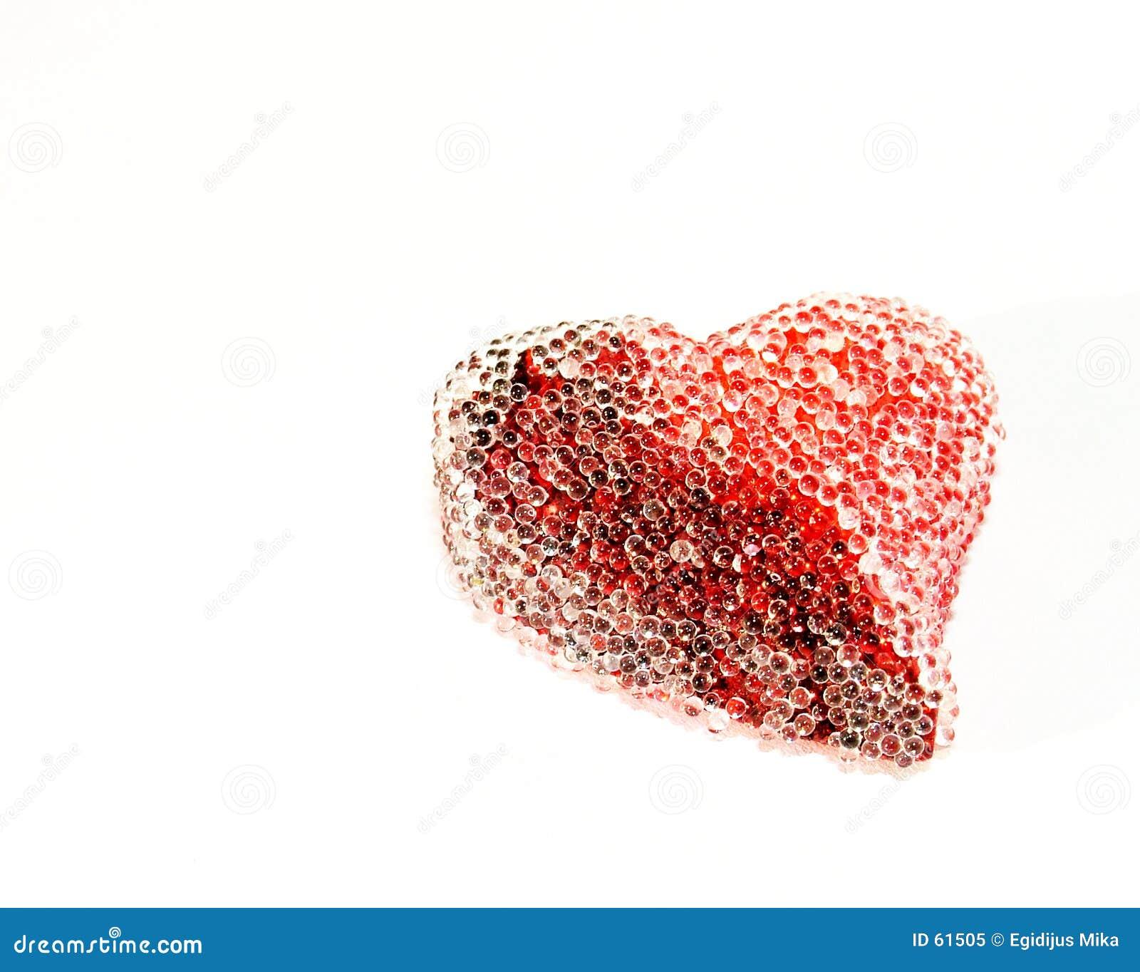 Corazón de la st-Tarjeta del día de San Valentín