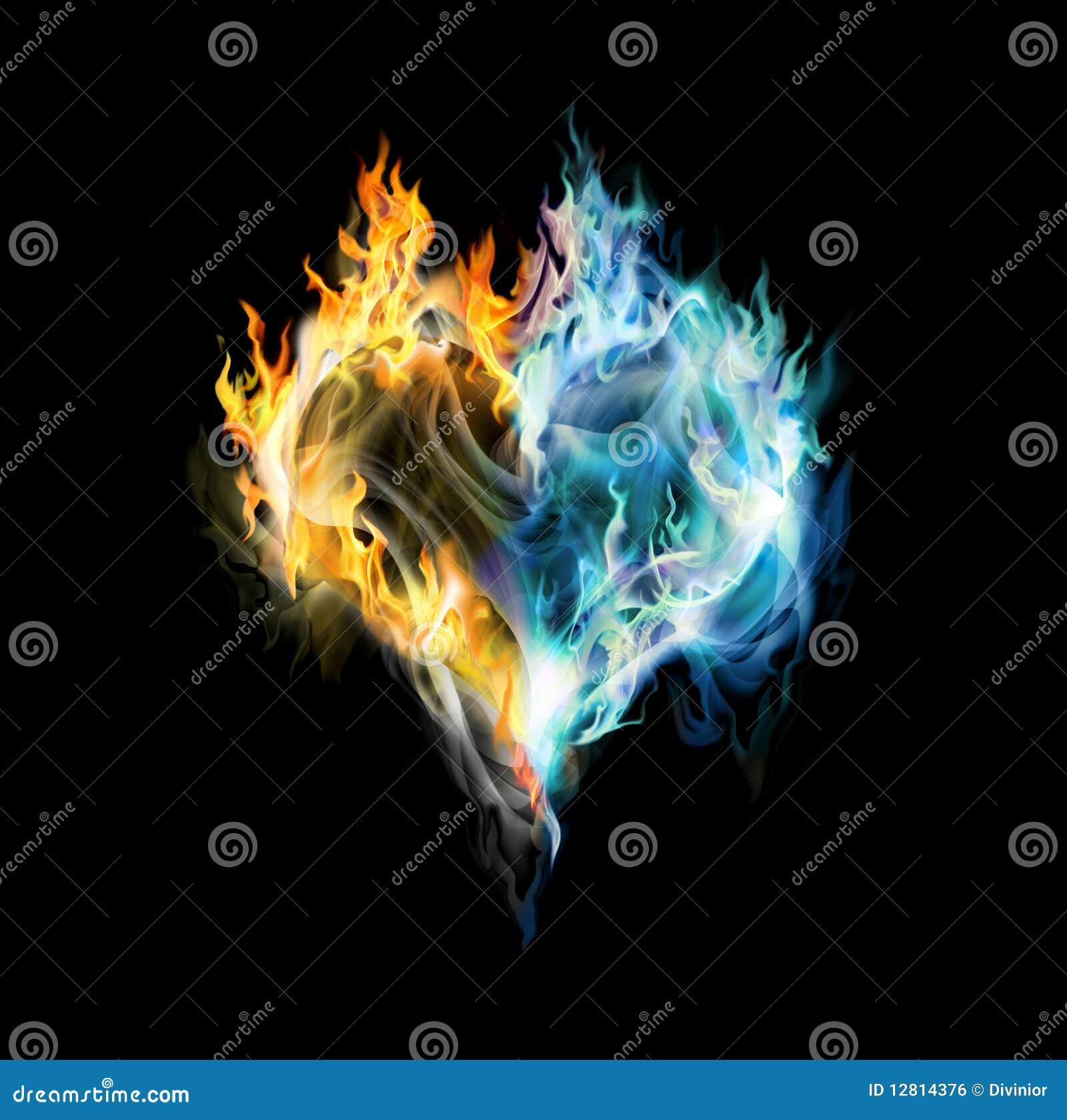 Corazón del Fuego-hielo