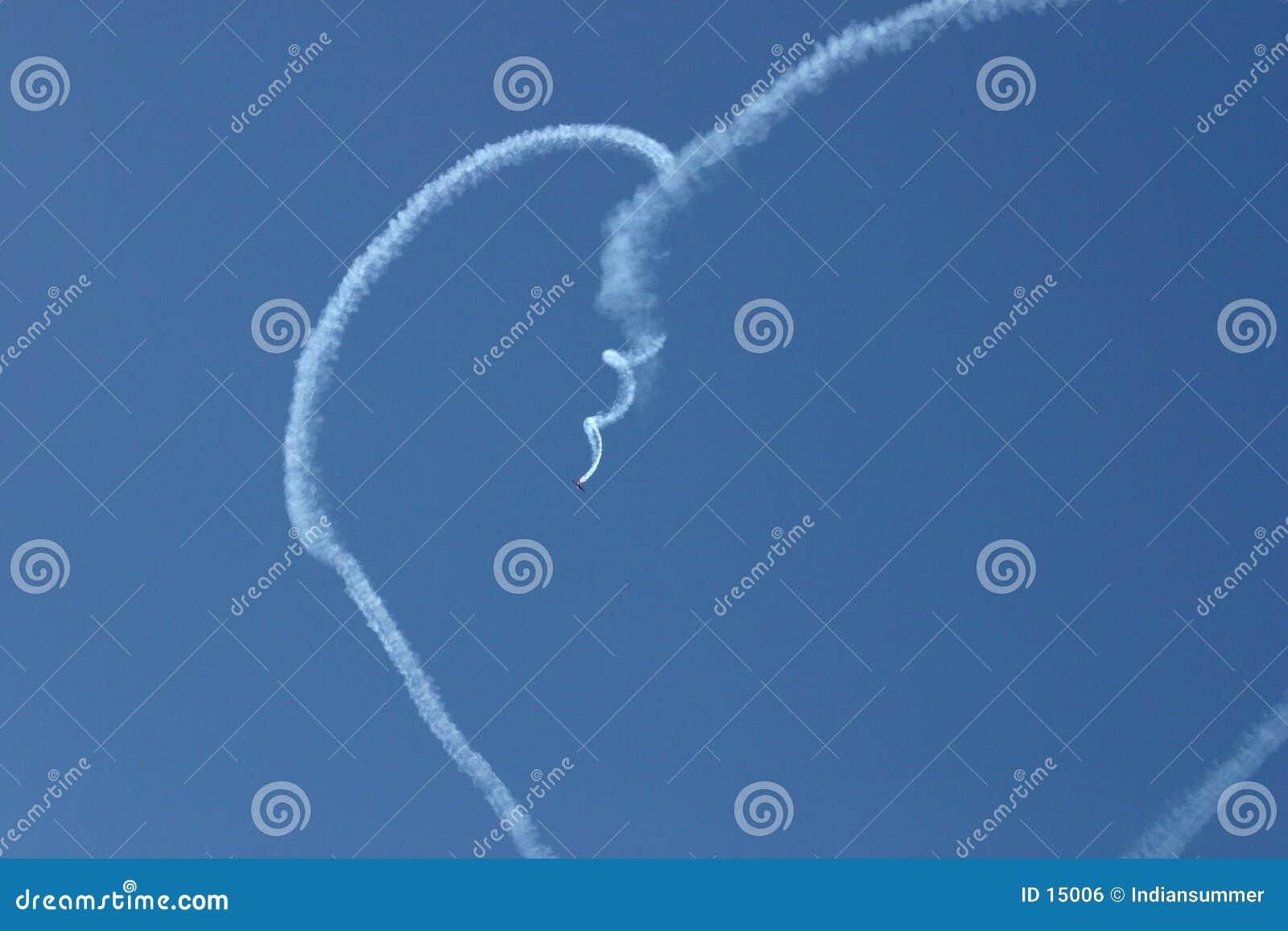Corazón en el cielo
