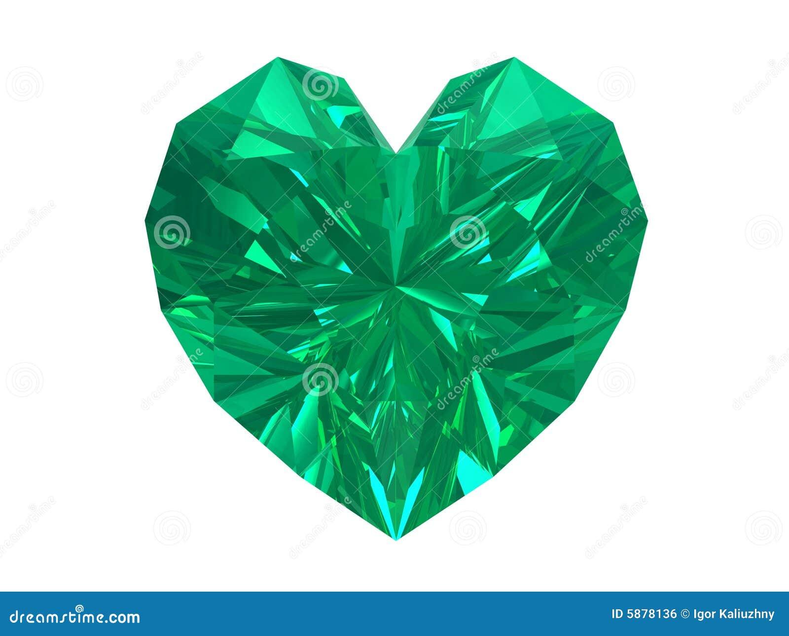 Green diamond shape