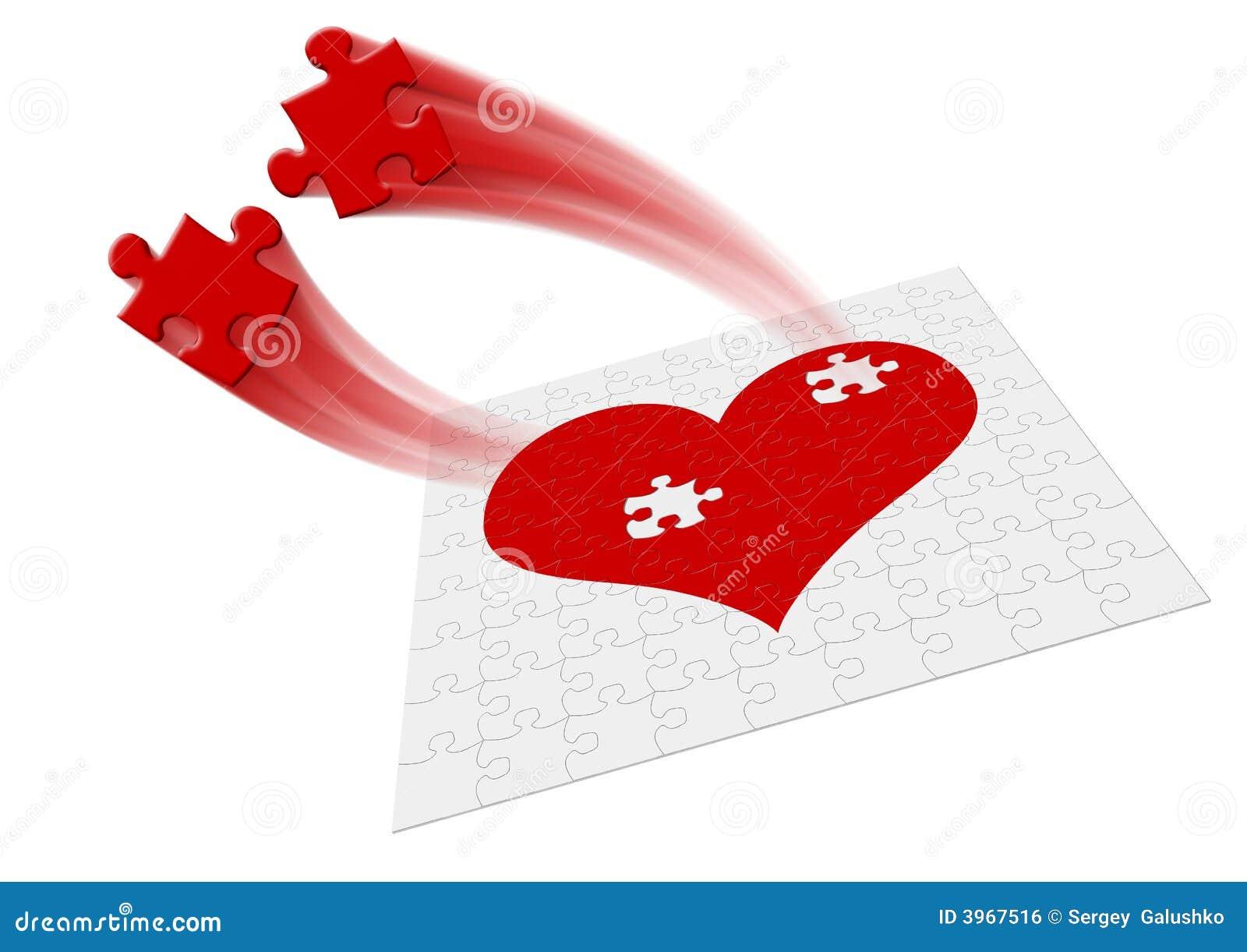Corazón Movimiento Stock De Ilustración Ilustración De Tres 3967516