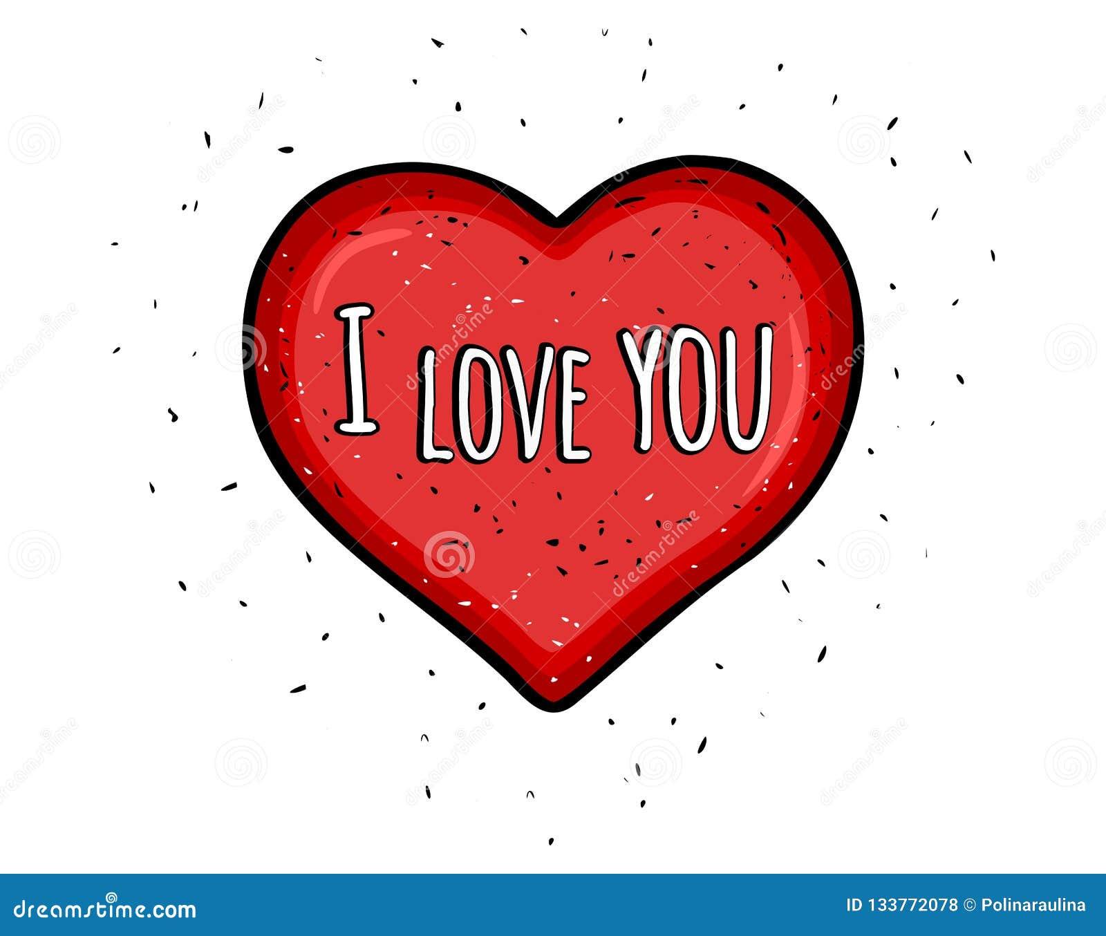 Te Amo Corazón Del Caramelo Imagenes de archivo - Imagen