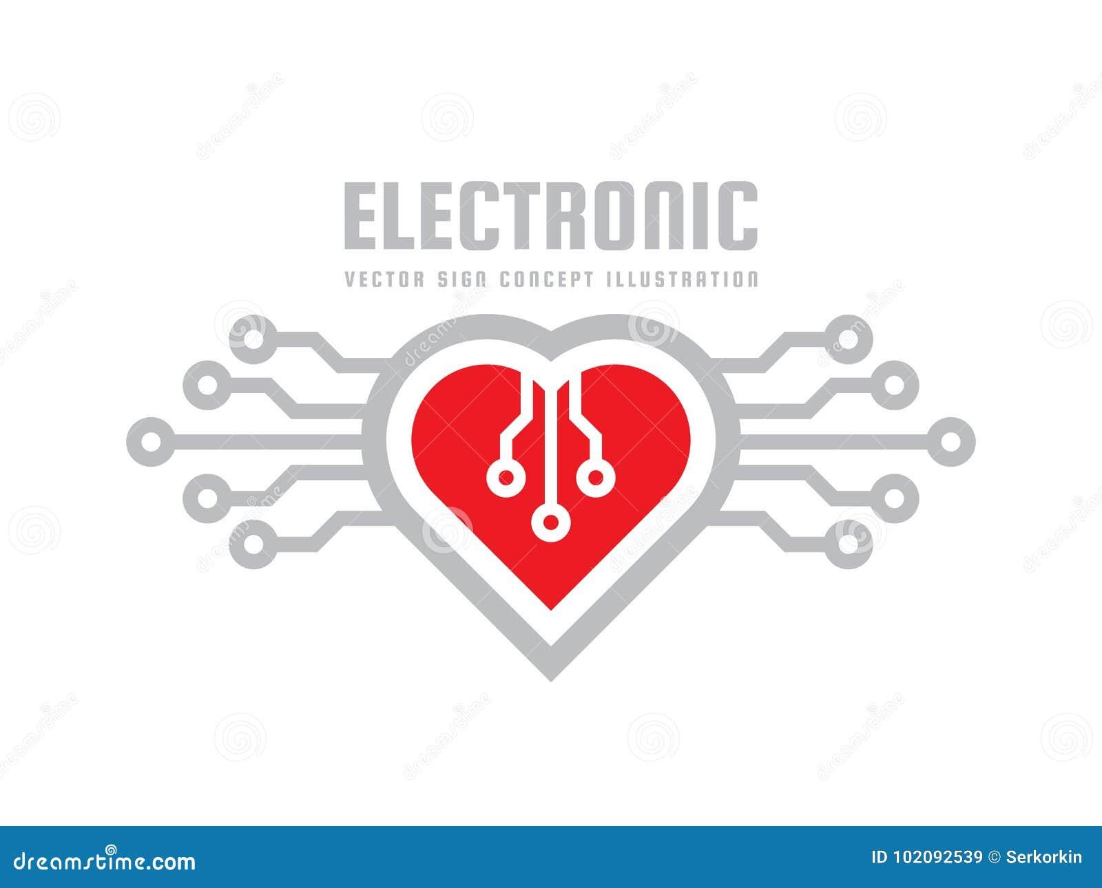 Corazón Rojo Vector El Ejemplo Del Concepto De La