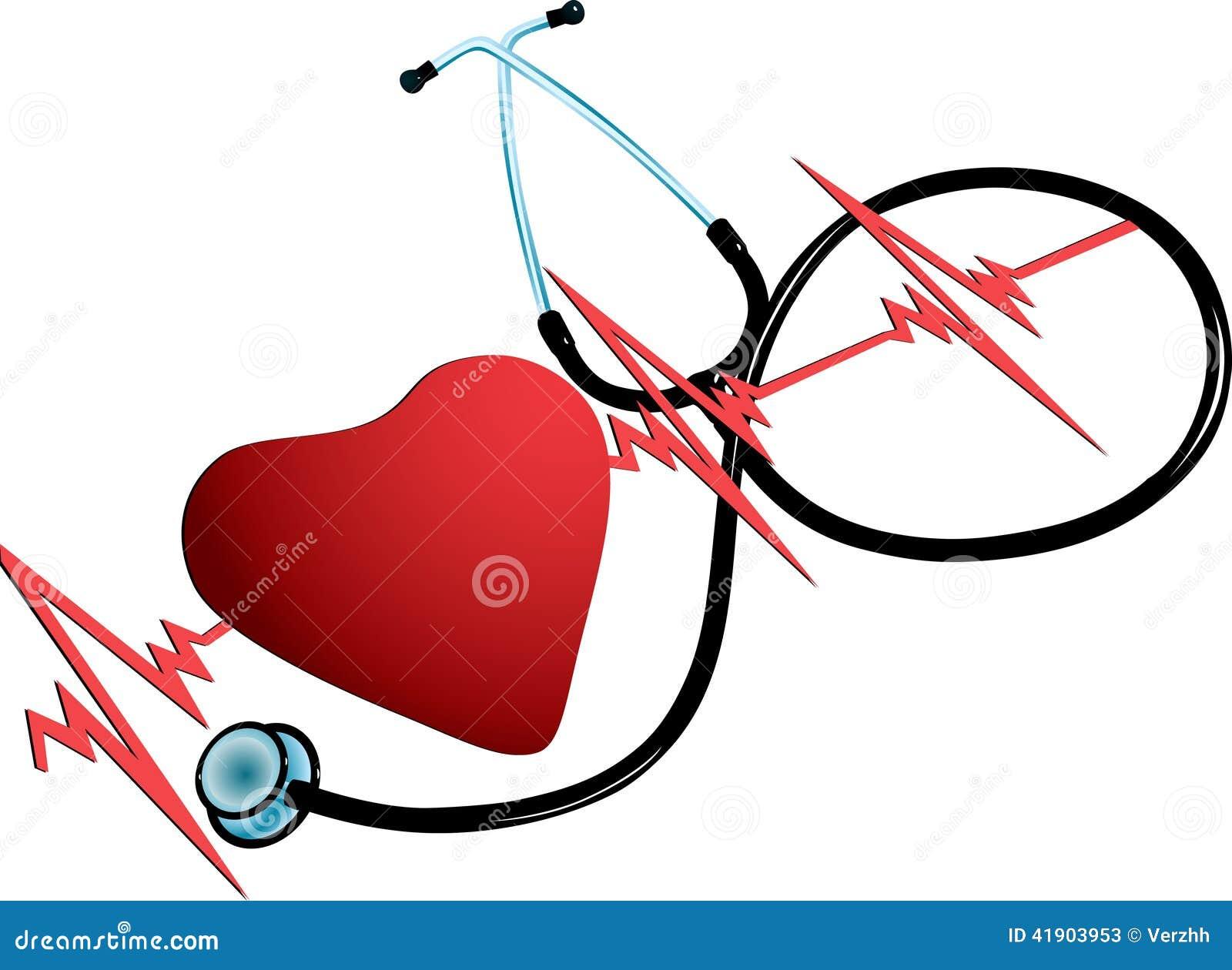 Corazón simbólico y el tonometer