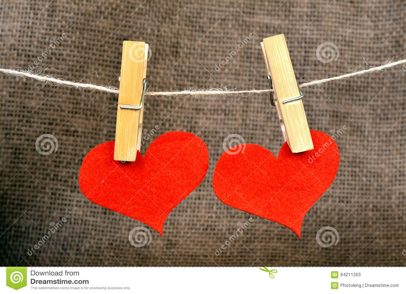 Corazón y pinza