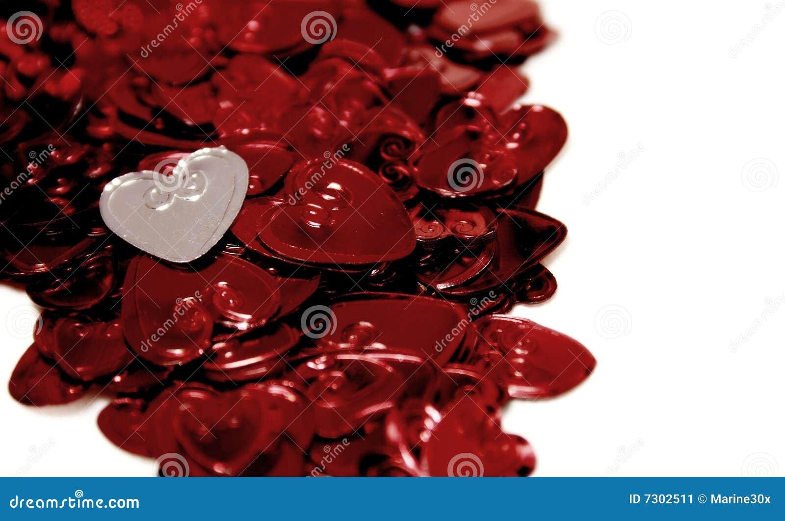 Corazones de las St-Tarjetas del día de San Valentín