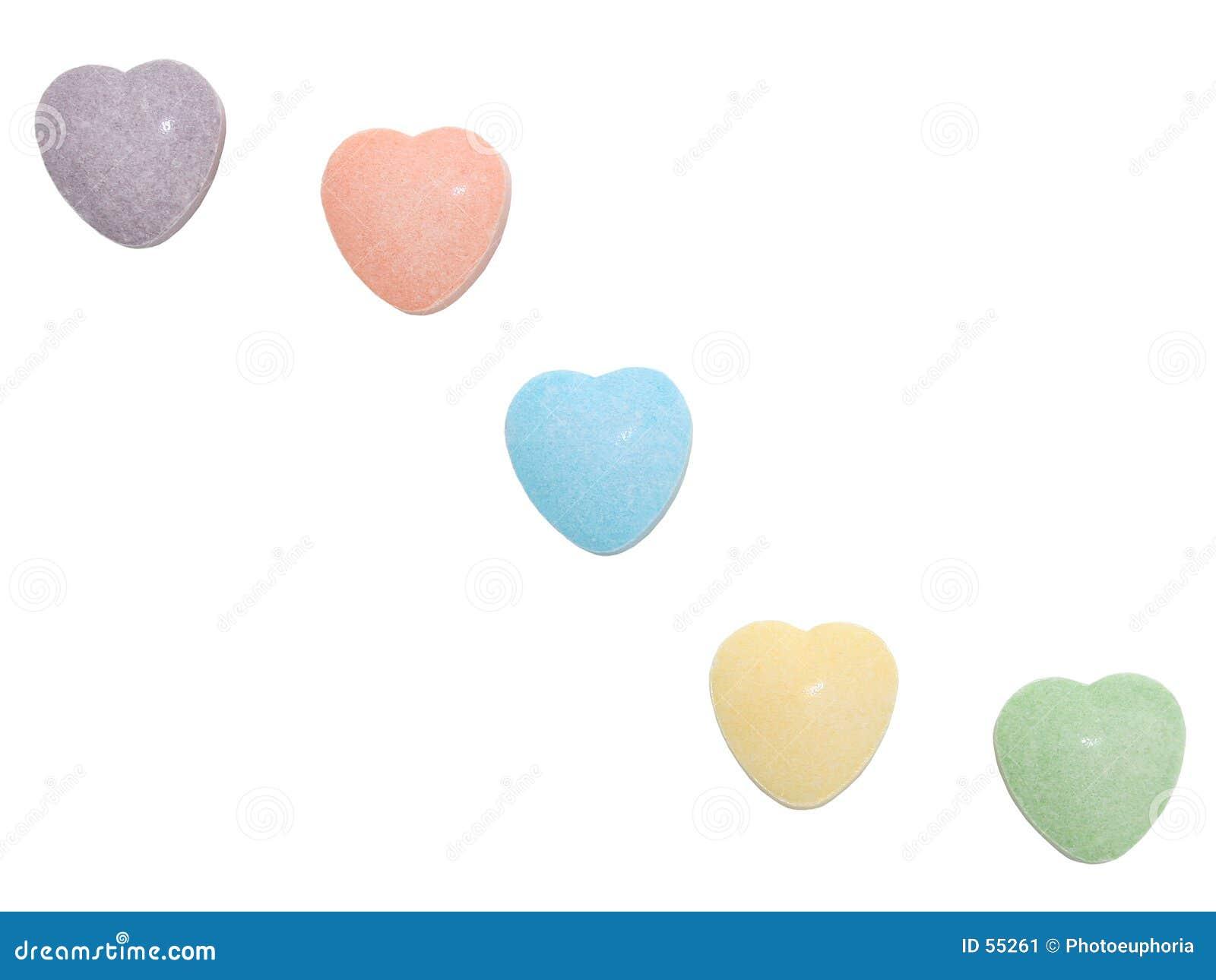 Corazones del caramelo (imagen 8.2mp)
