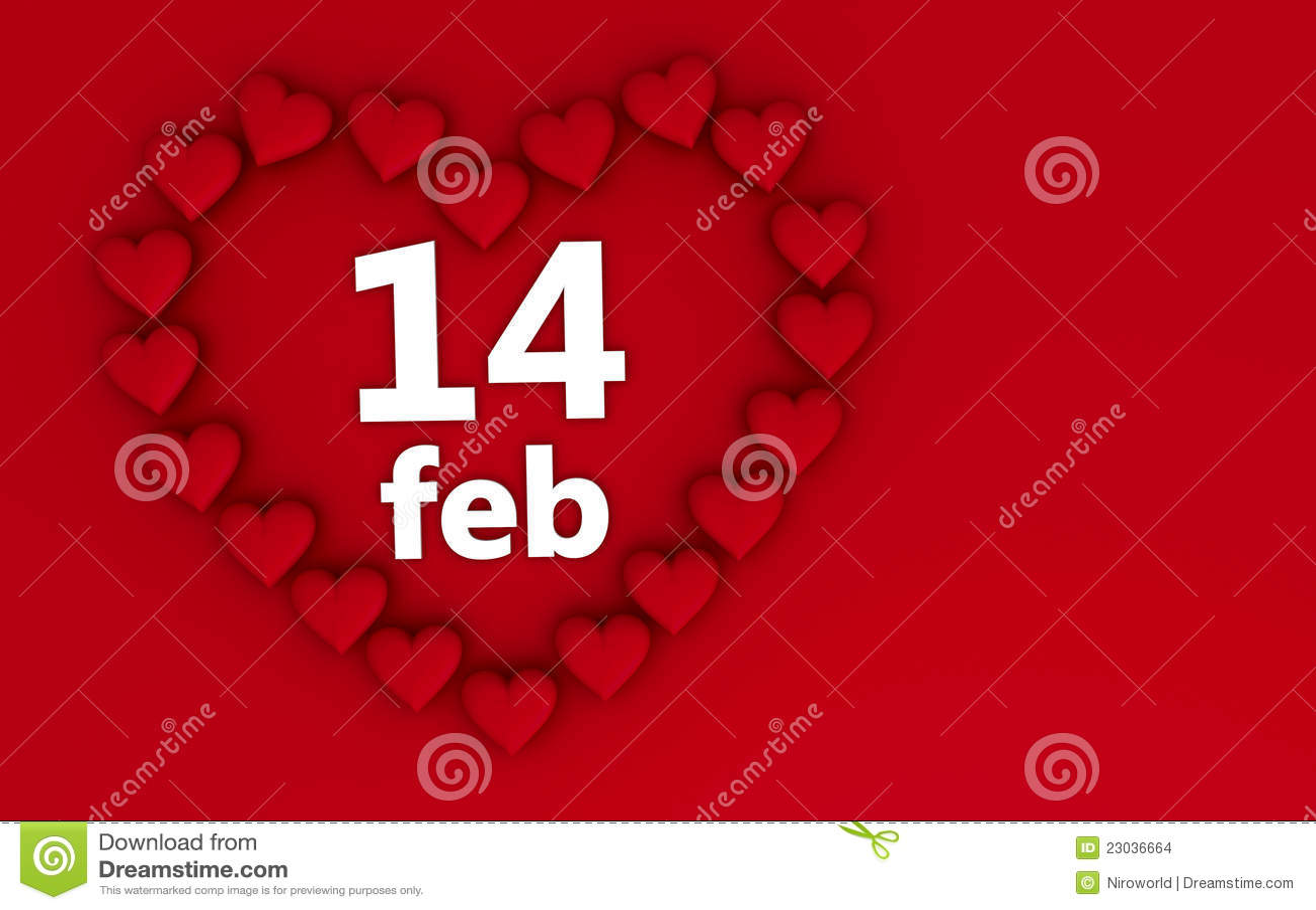 Corazones del d a de tarjetas del d a de san valent n - Postales dia de san valentin ...