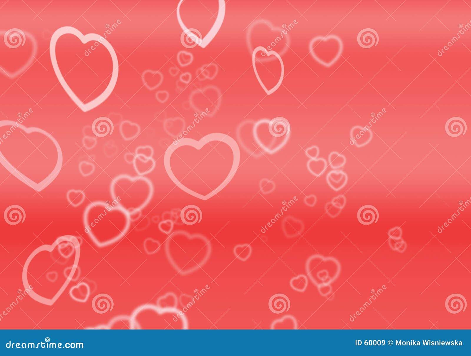 Corazones para las tarjetas del día de San Valentín