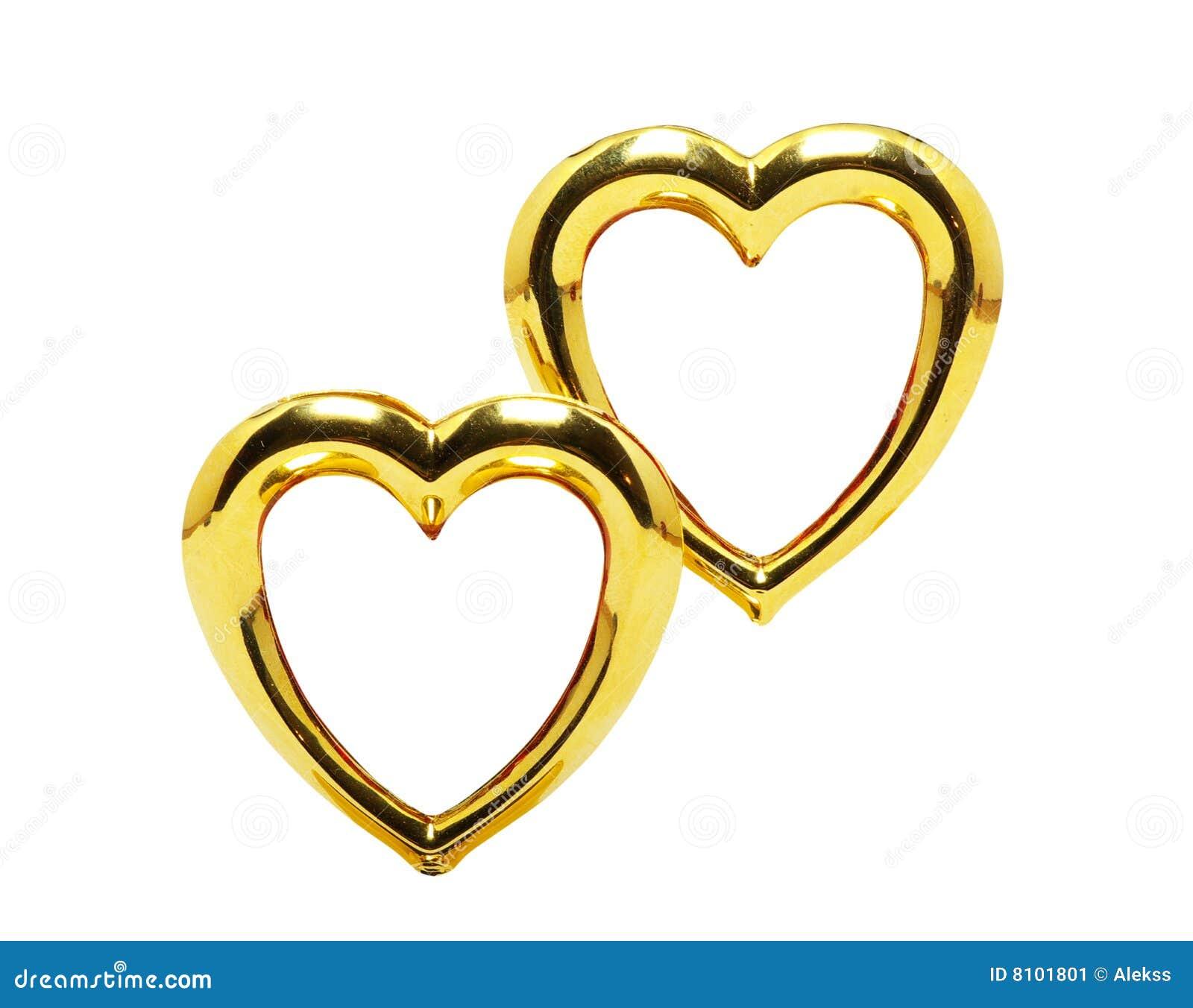Golden wedding anniversary clip art