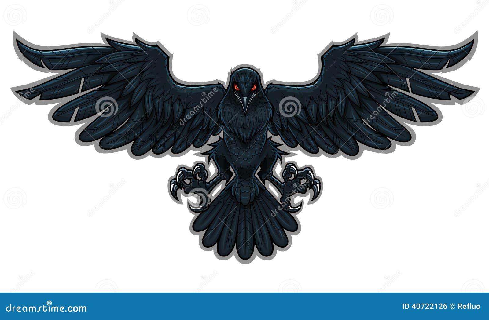 Corbeau Illustration d...
