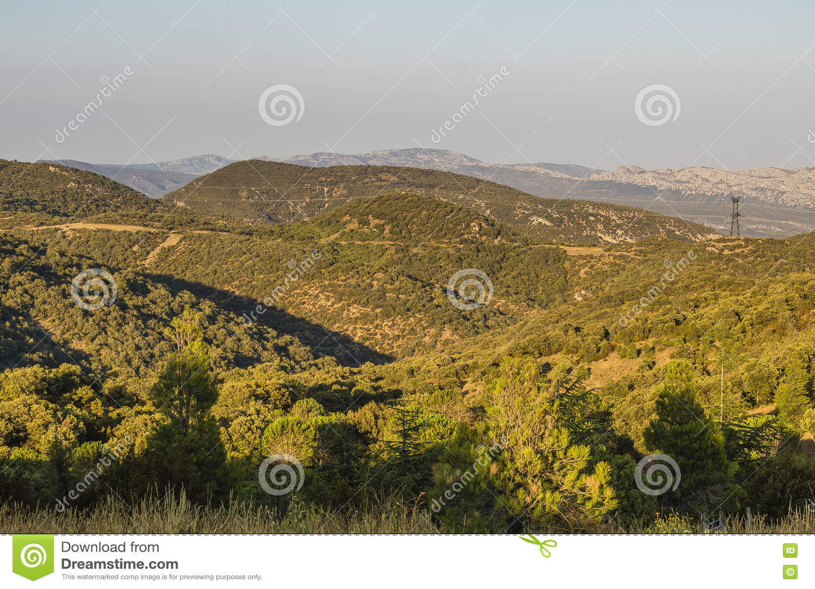 Corbieres-Berge, Frankreich