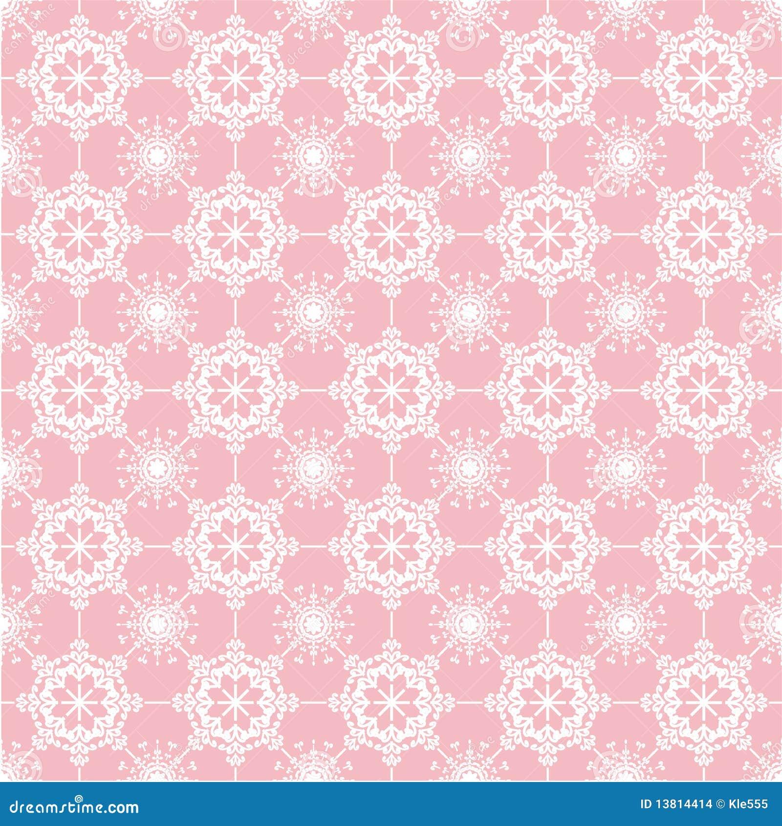 Cordón en fondo rosado