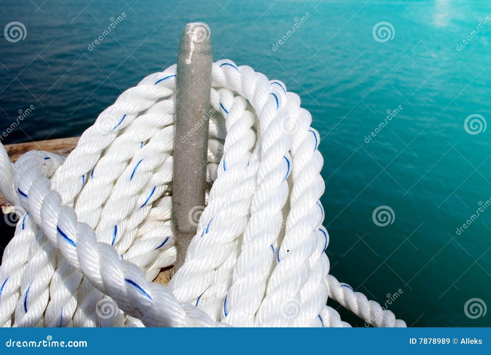 Corda no iate