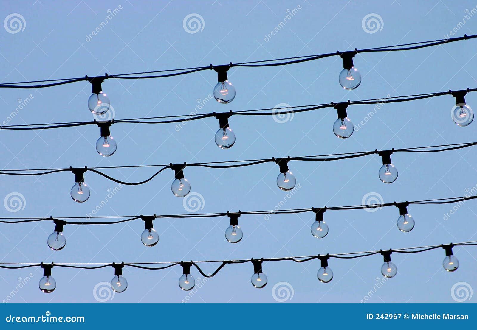 Cordas das luzes
