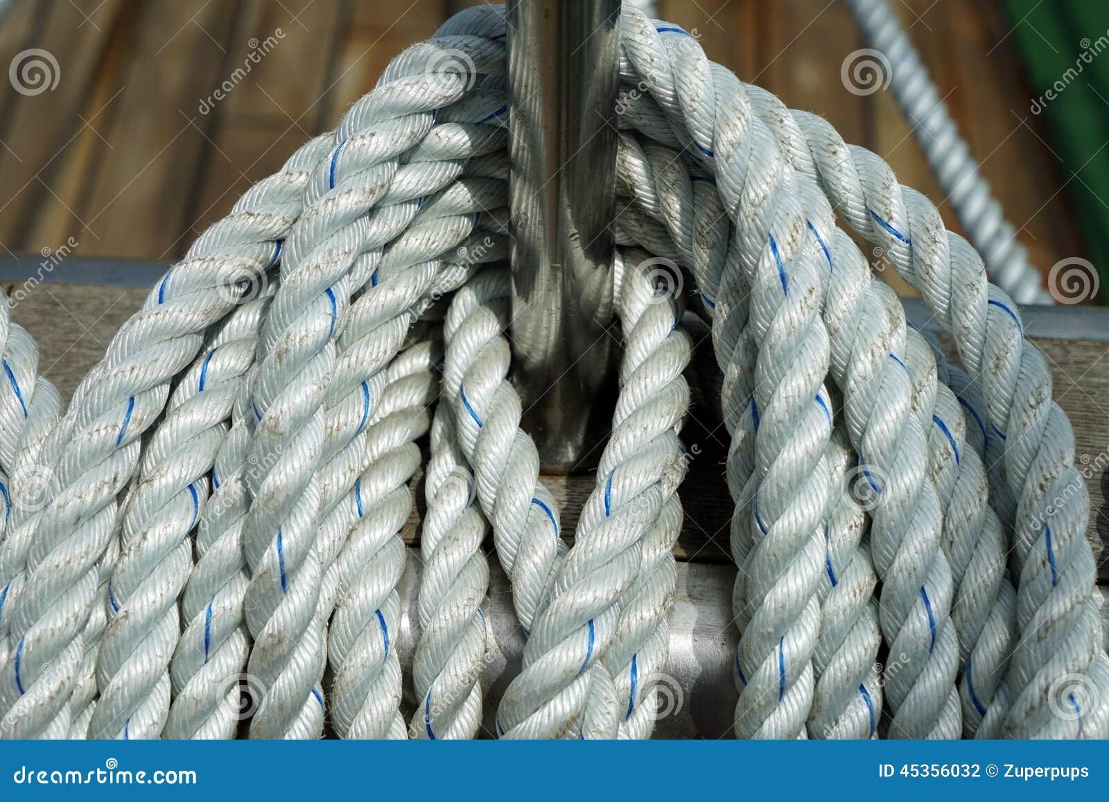 Corde de bateau