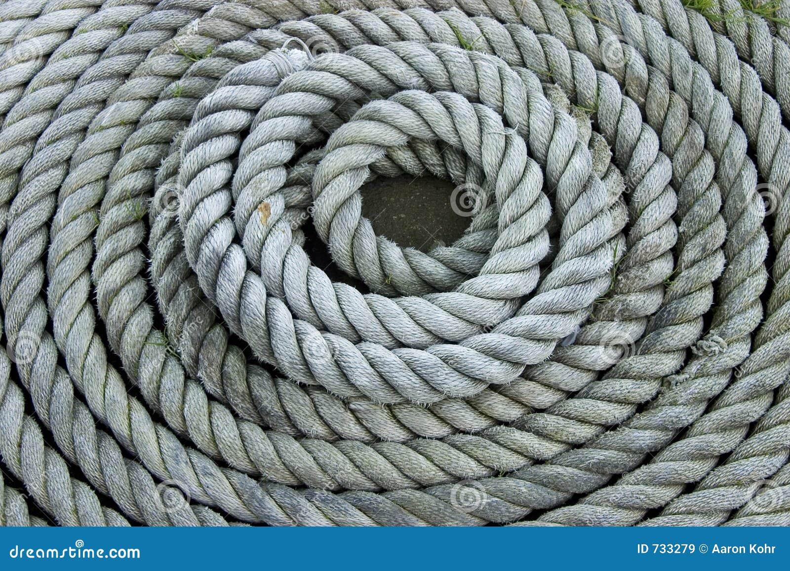 Corde enroulée