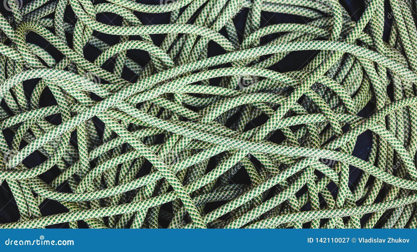 Corde verte pour s élever