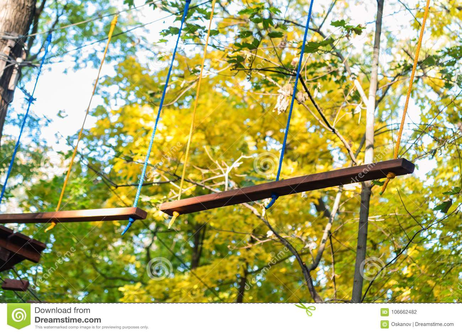 Cordes de parc d aventure pour s élever