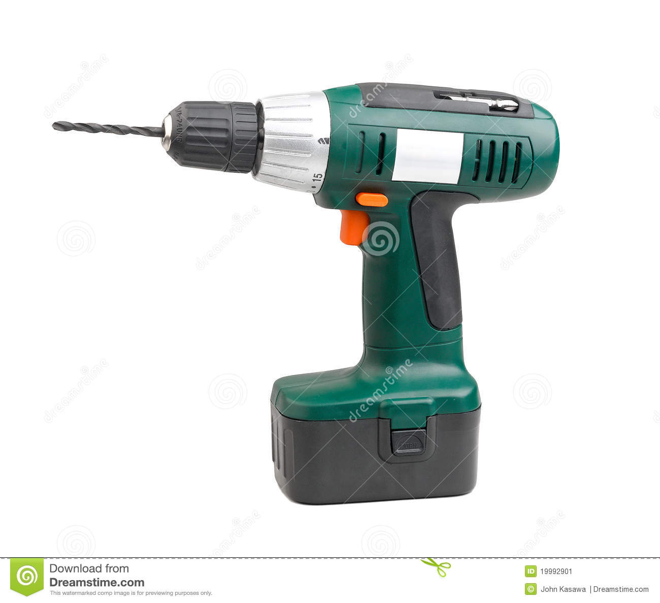 Cordless driller machine tool with battery inside very convenience to ...
