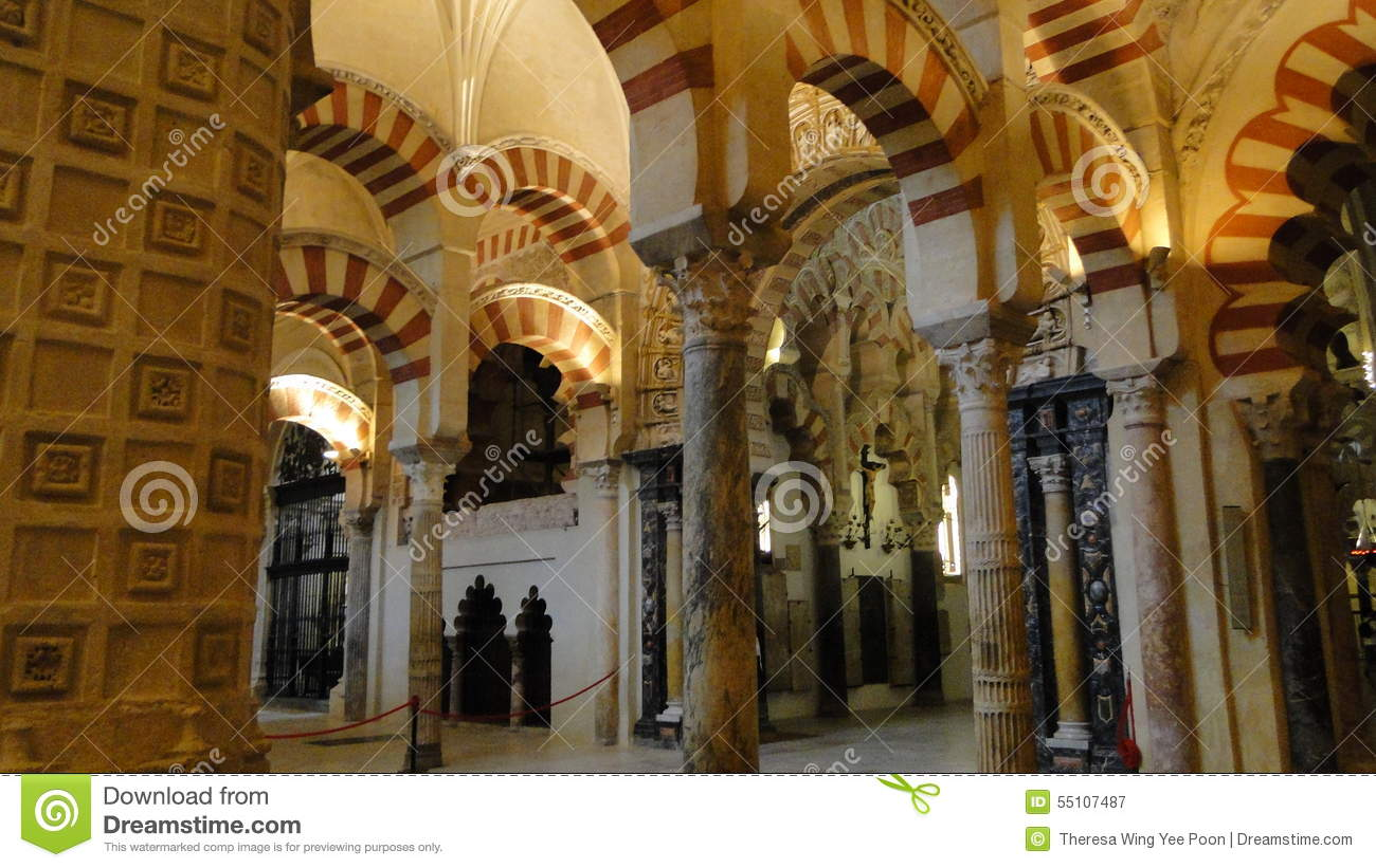 Cordoba cathedral interior editorial photography image for Interior mezquita de cordoba