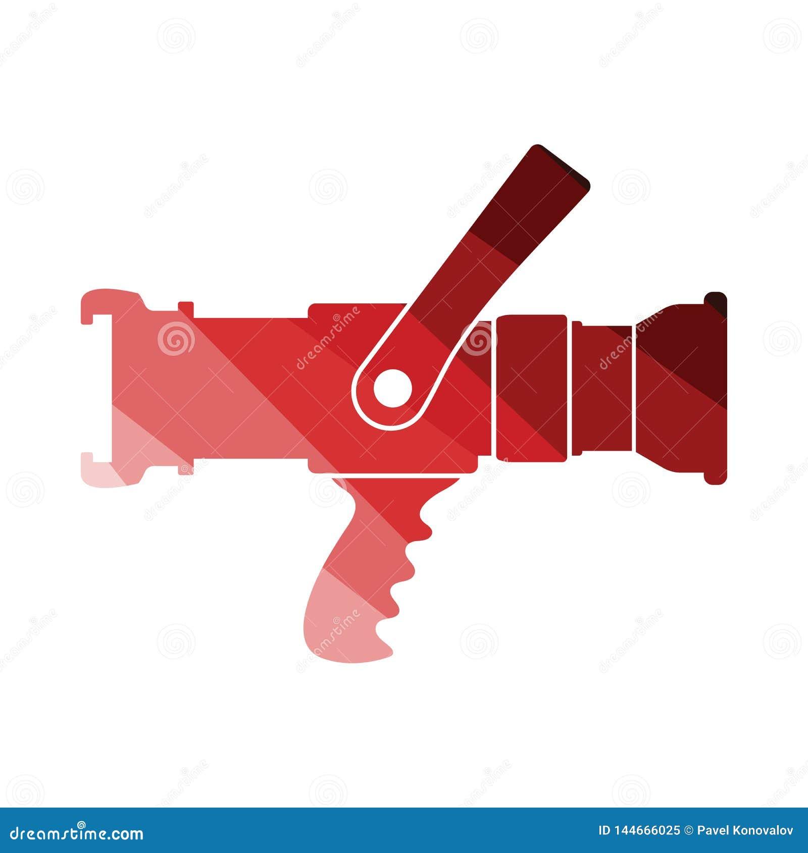 Значок пожарного рукава