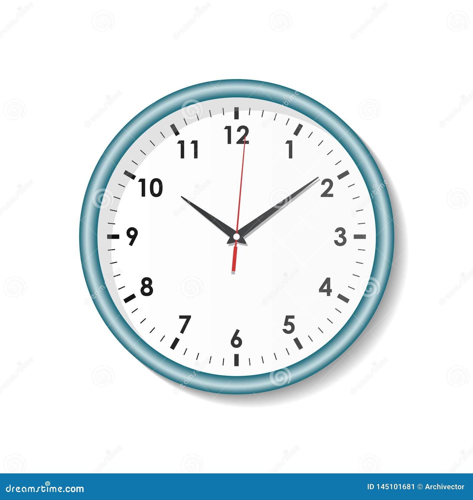 Часы на белой предпосылке