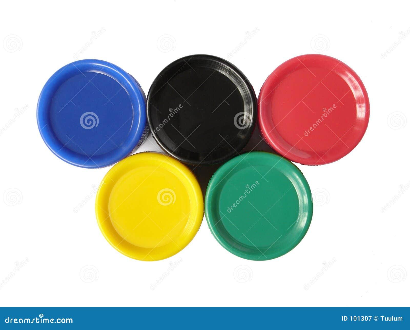 Cores olímpicas