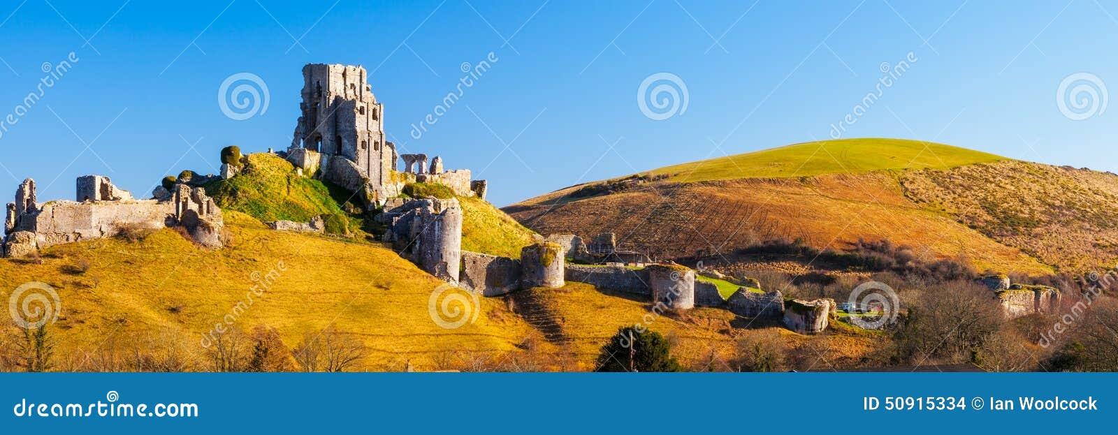 Corfe kasztel Dorset Anglia