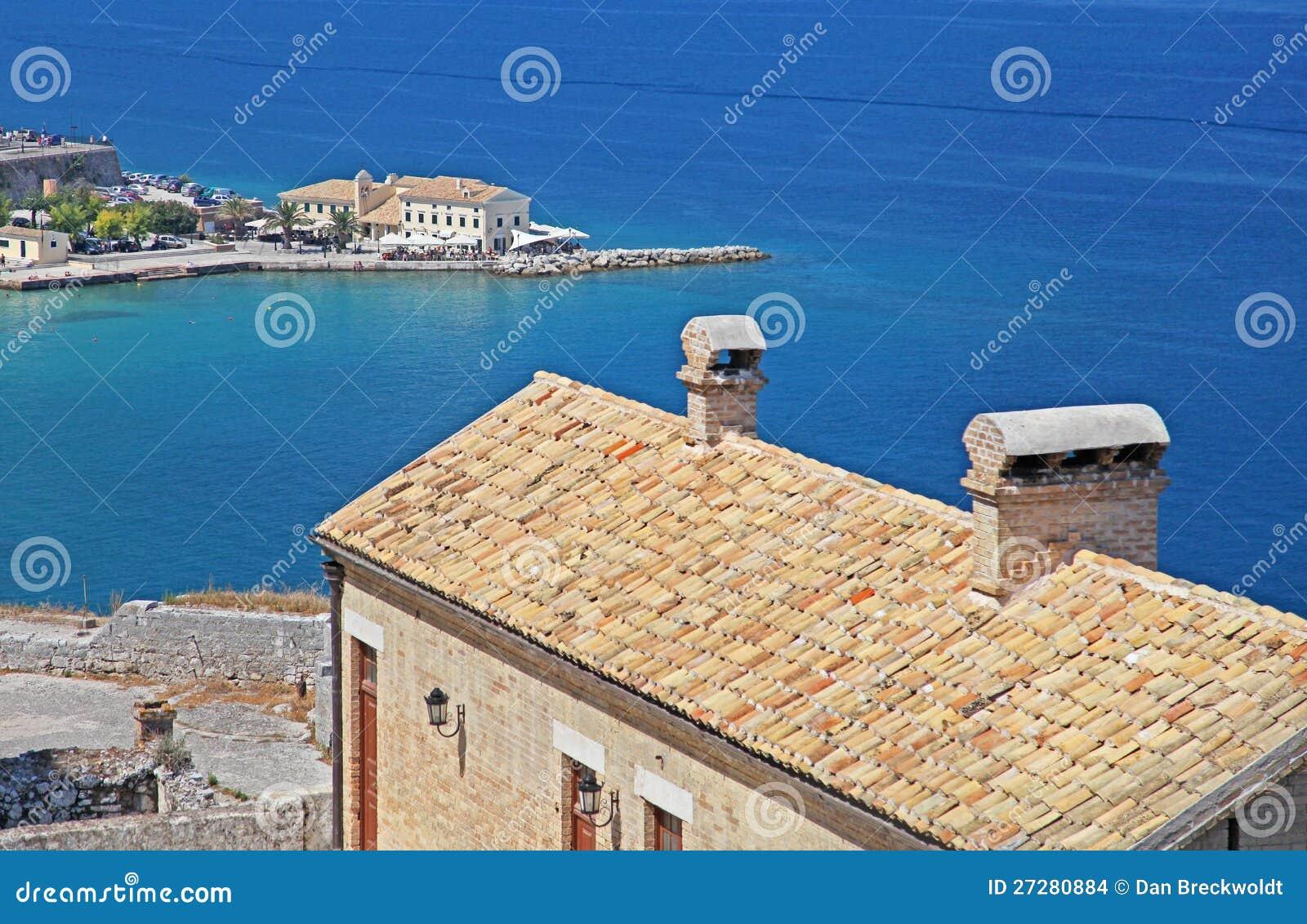 Corfu i Grekland