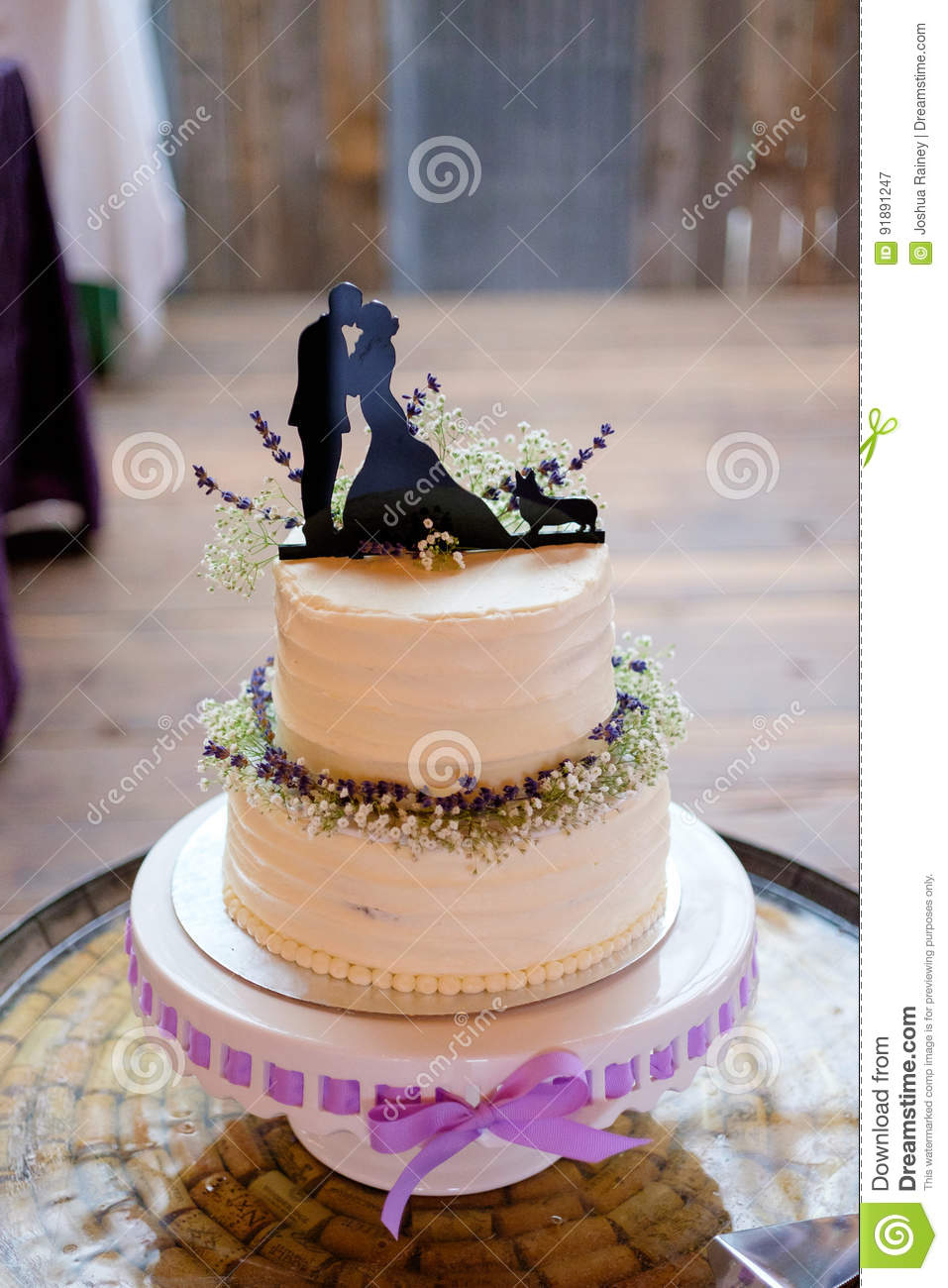 Corgi Wedding Cake Topper stock image. Image of cake ...
