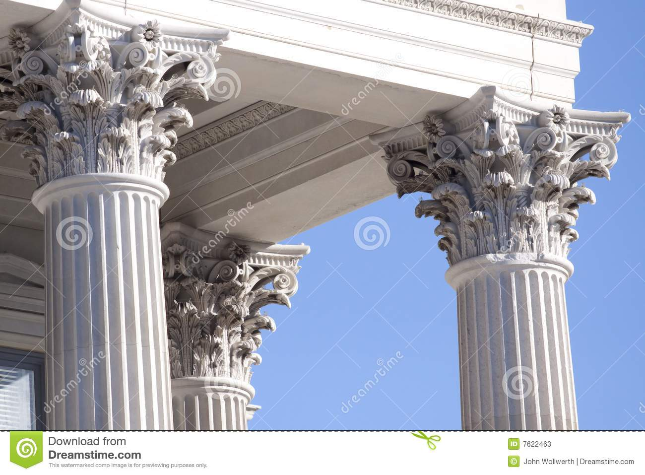 corinthian columns stock image image of column financial