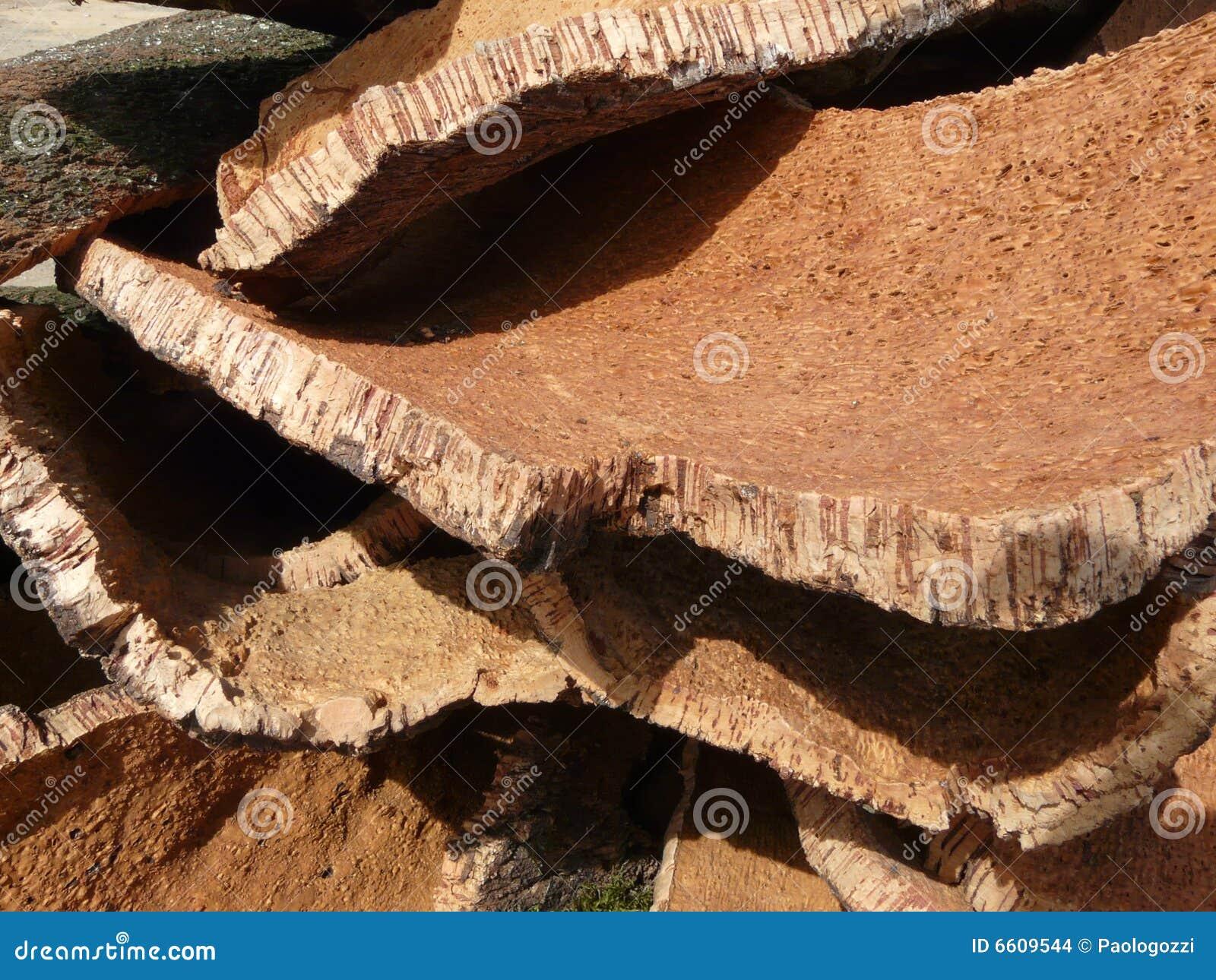 Cork layers