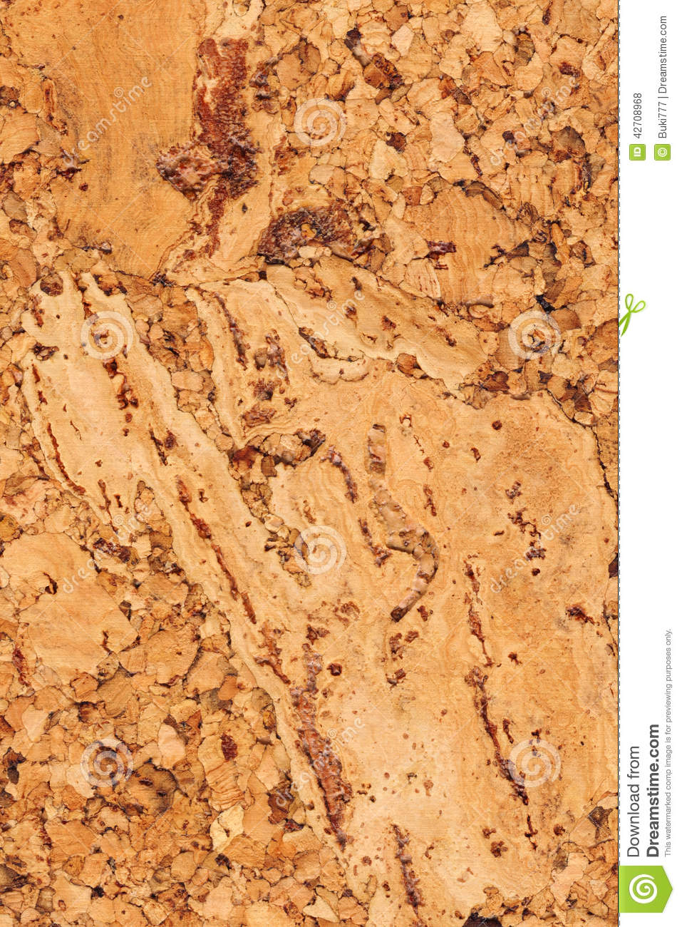 Cork Tile Grunge Texture Stock Photo Image 42708968