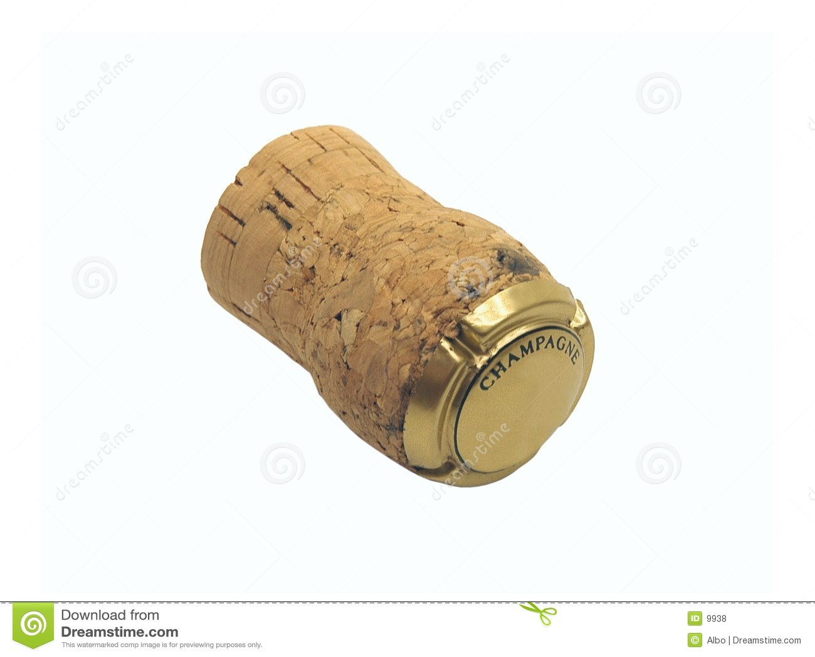 Cork van Champagne