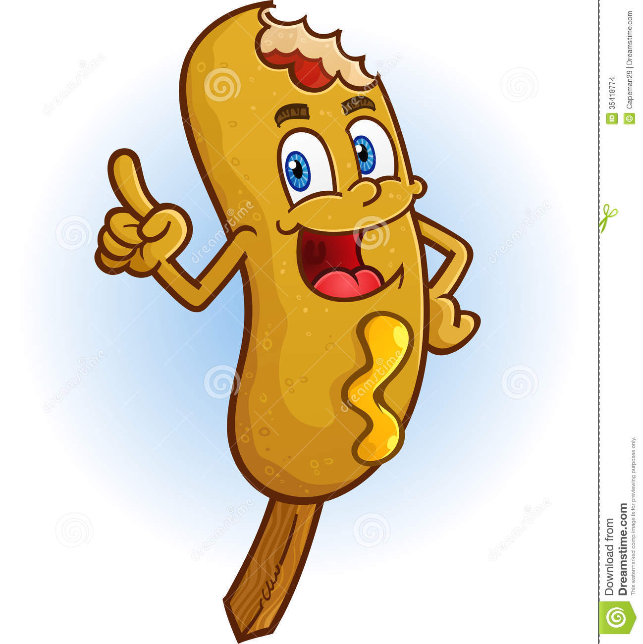 corn dog cartoon character stock vector image of pointing 35418774 Free Clip Art Happy Birthday for Men Happy Birthday Images Free Download