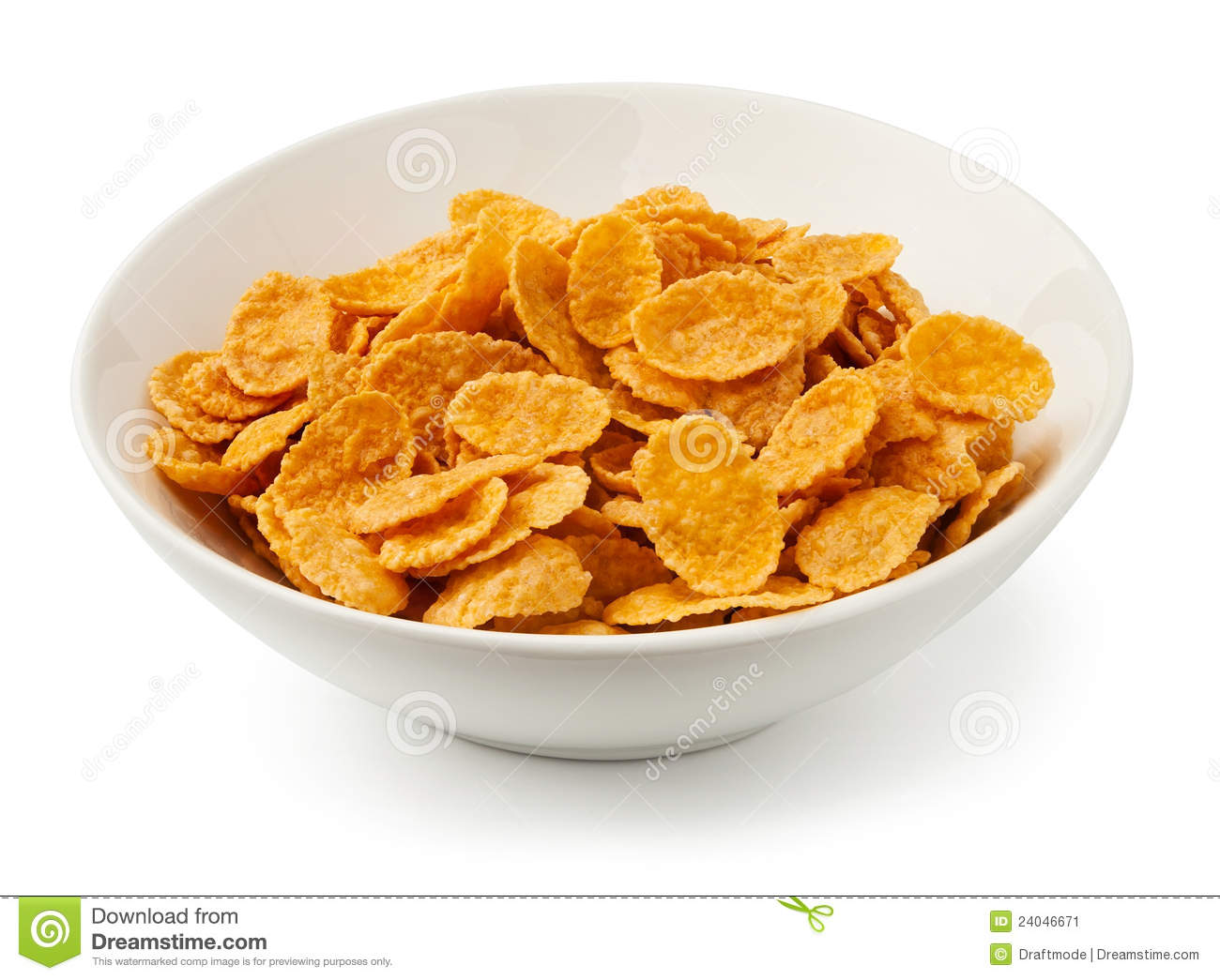 More similar stock images of ` Corn flakes in a bowl `