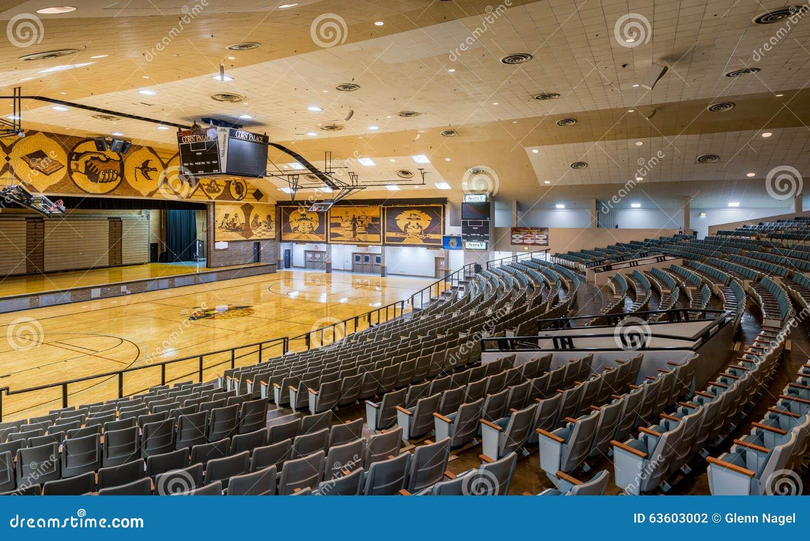 Corn Palace Interior Editorial Photography Image Of Basketball