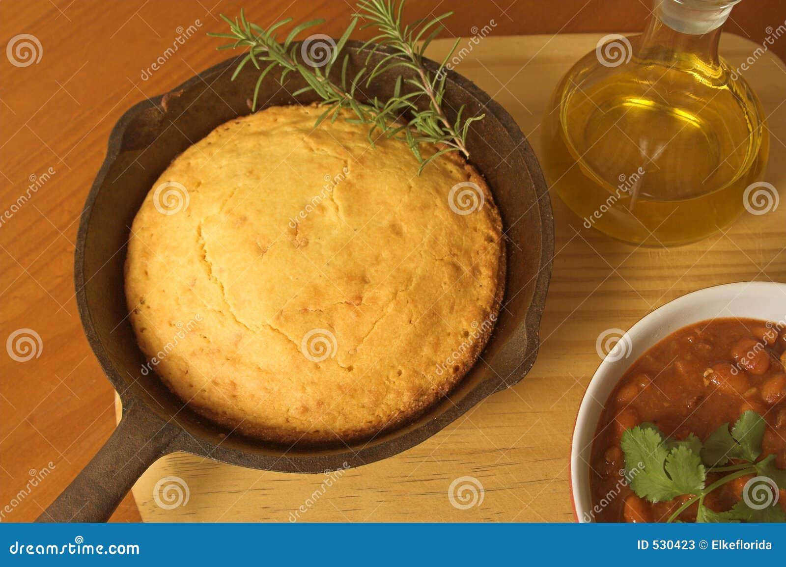 Cornbread e pimentão