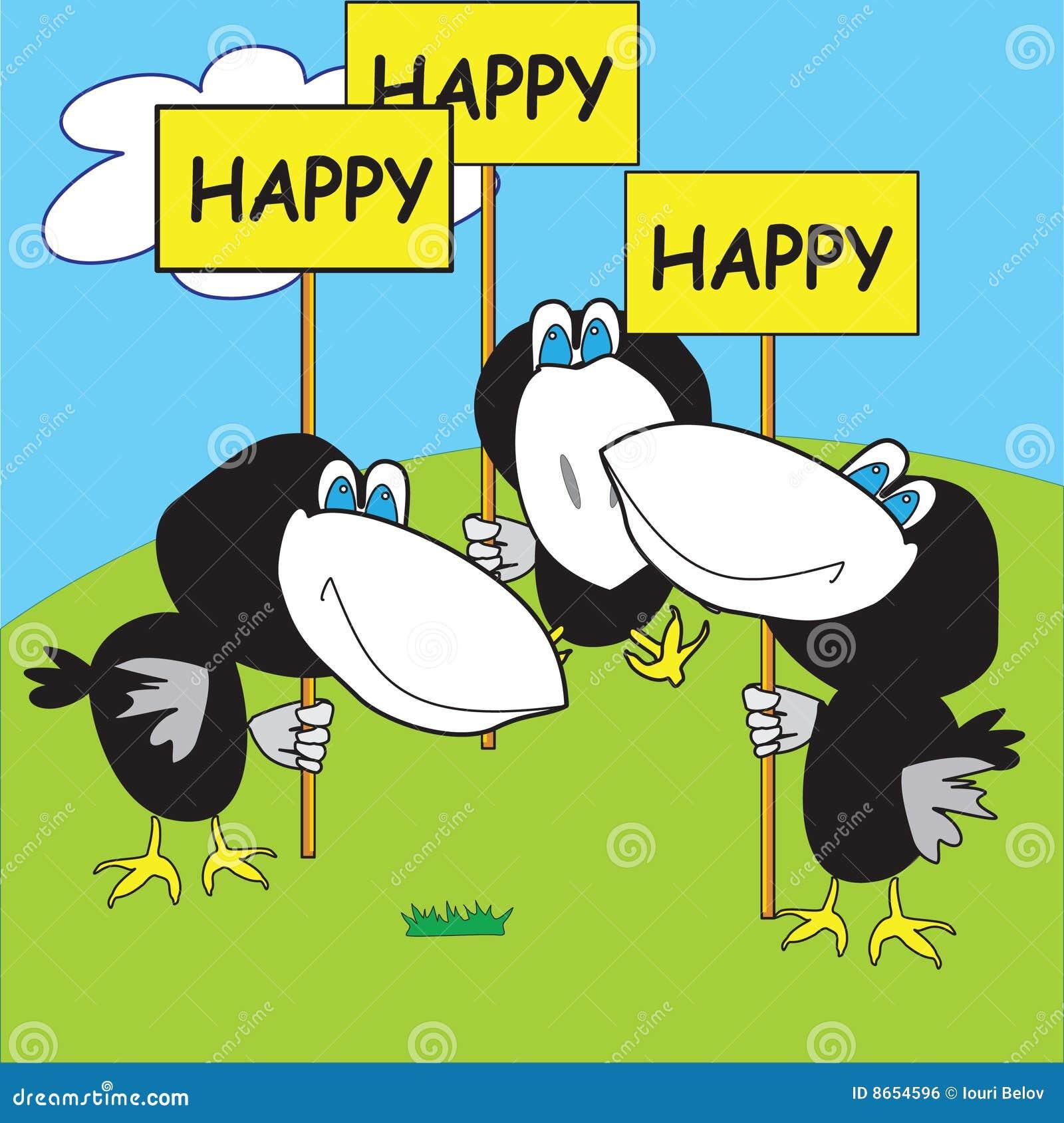 Corneilles heureuses