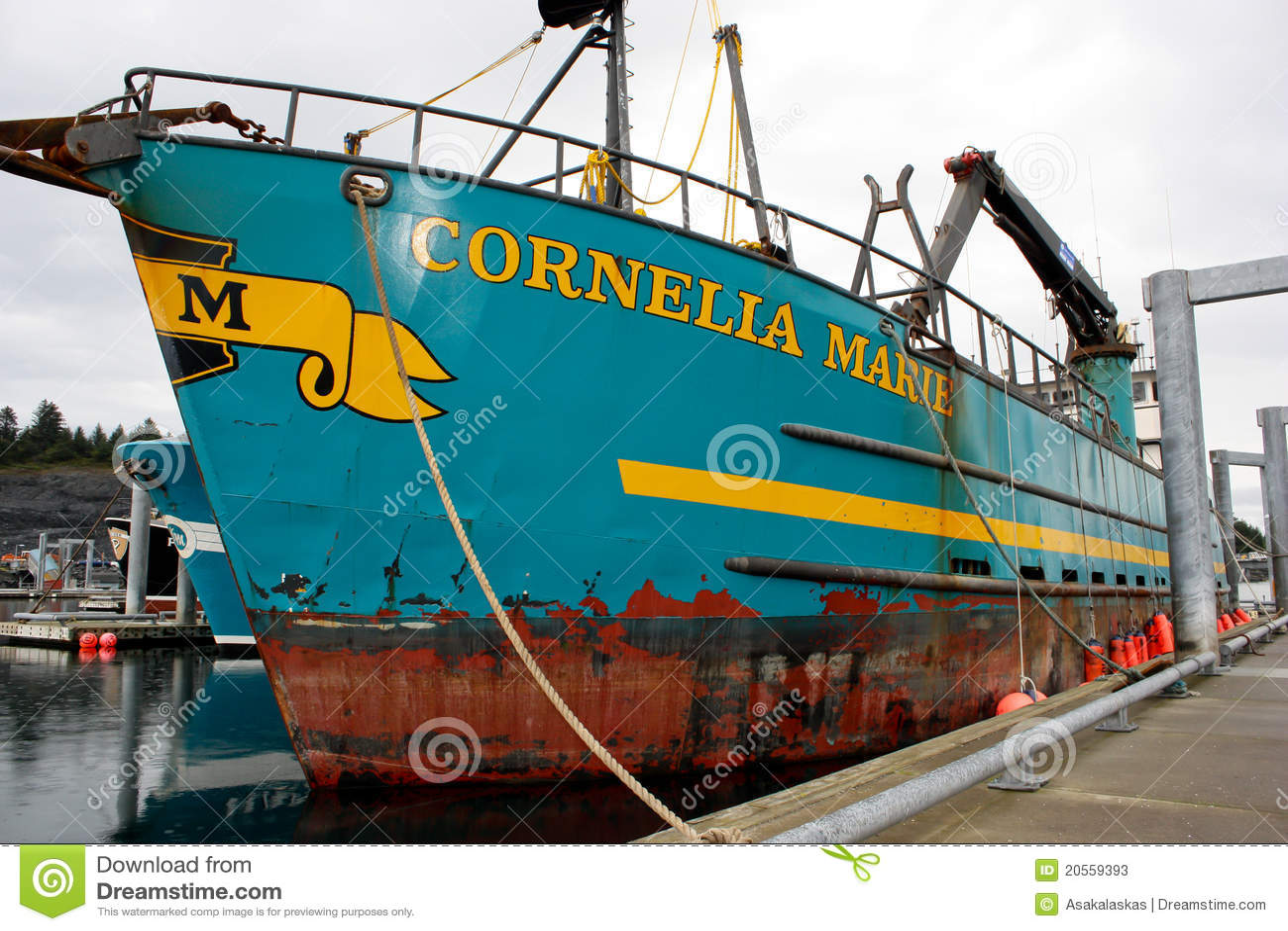 Deadliest Catch Cornelia Marie Boat