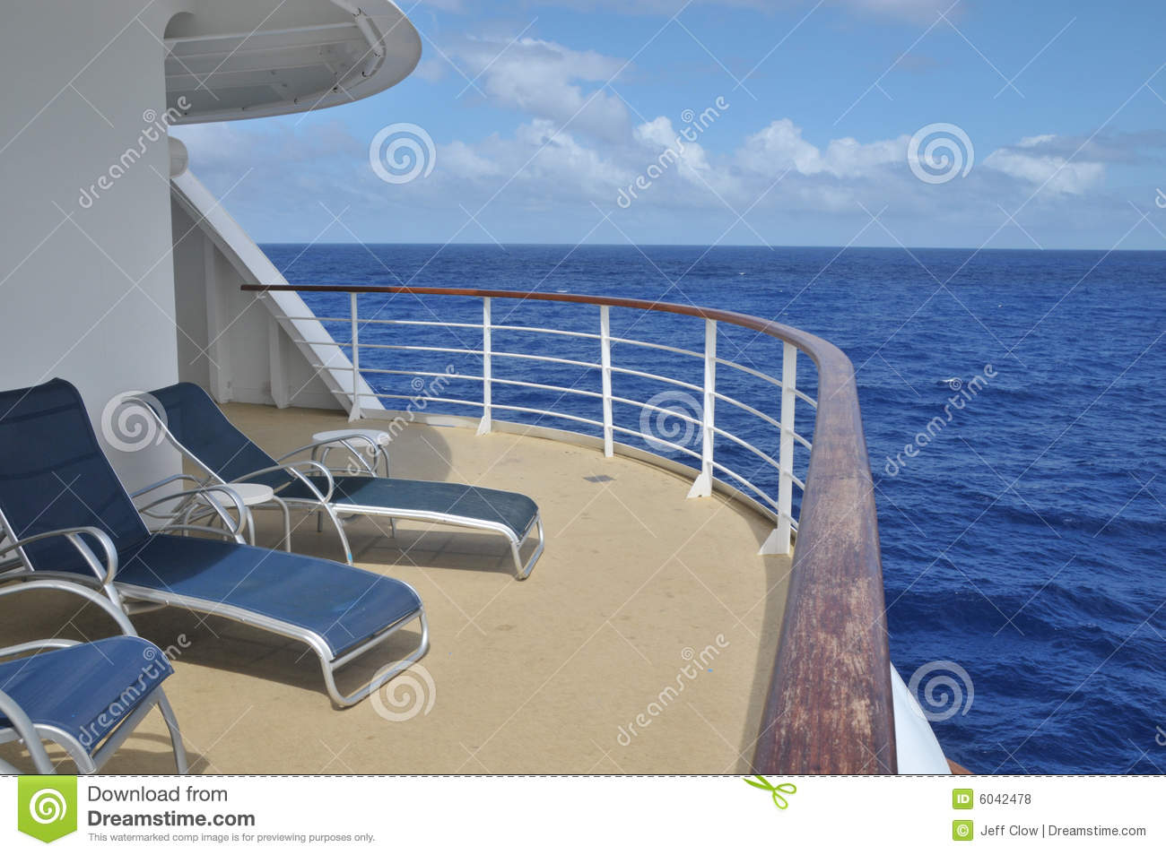 Corner balcony on the cruise ship stock photo image of for Balcony on cruise ship