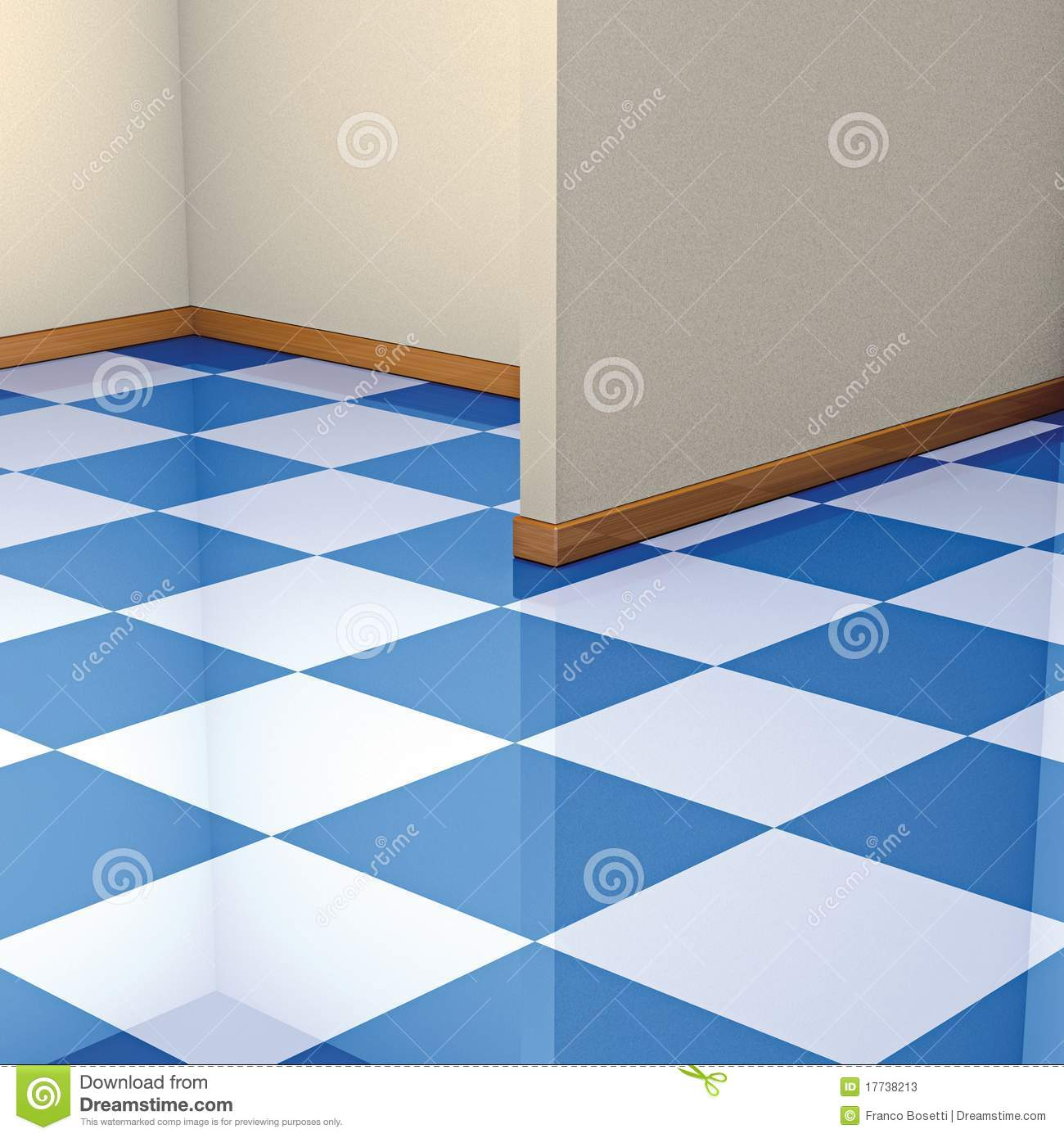 Corner and floor tiles stock illustration. Illustration of angles ...