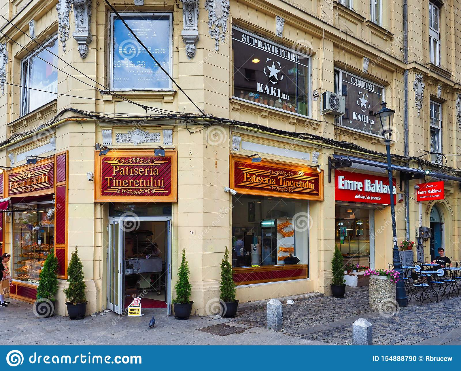 Corner Pastry Shop, Bucharest, Romania