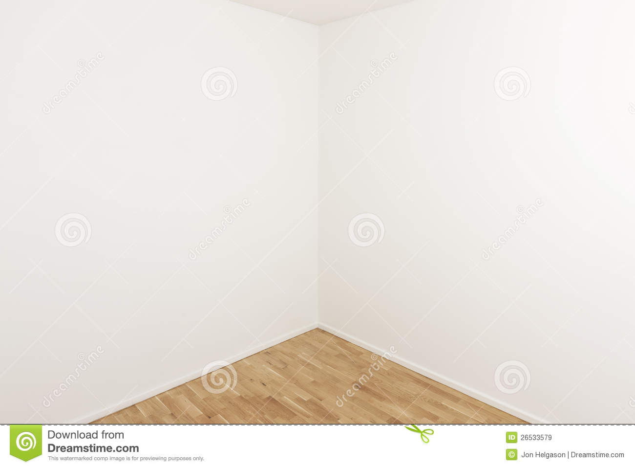 Corner Of A Room Stock Image Image Of Real Interior