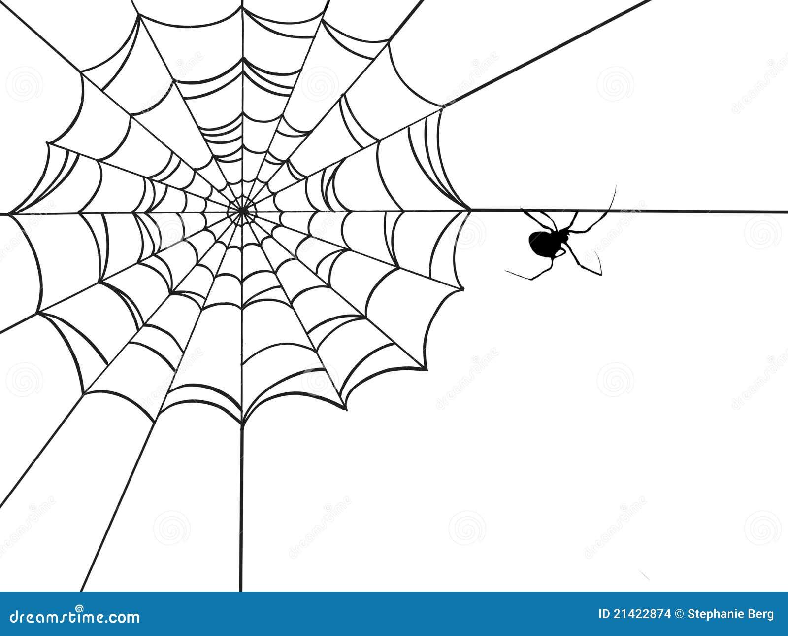 Corner spider web design - photo#4