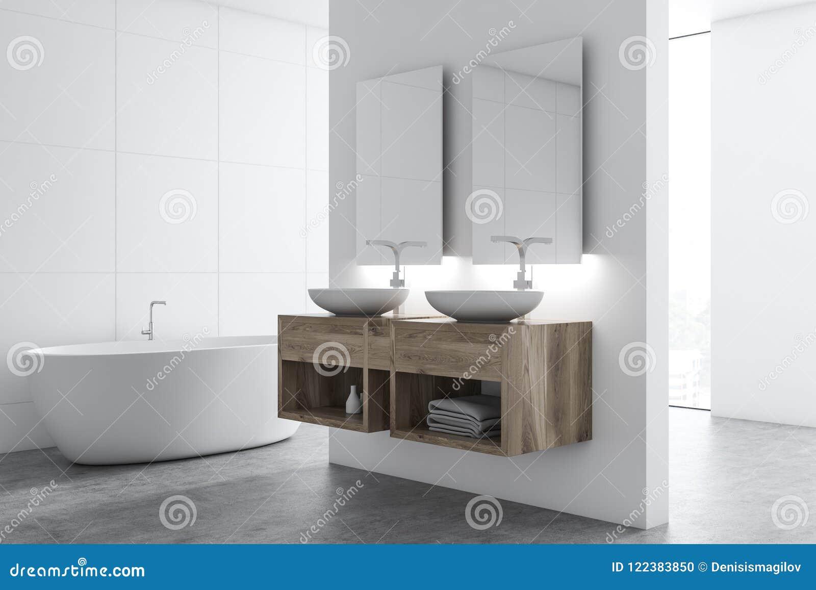 Corner Of A White Tile Bathroom Stock Illustration Illustration Of Metal Heap 122383850,Furnishing A New Home