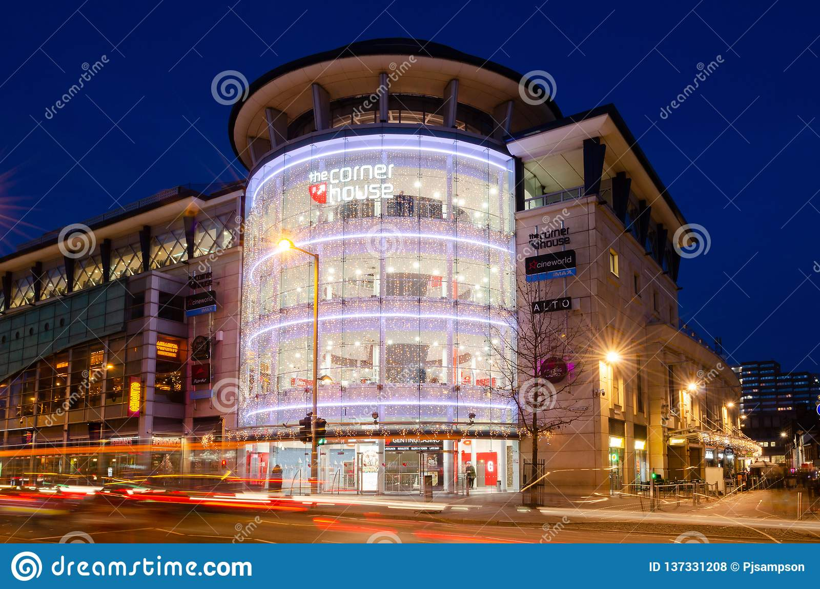 Cornerhouse Building in Nottingham, UK