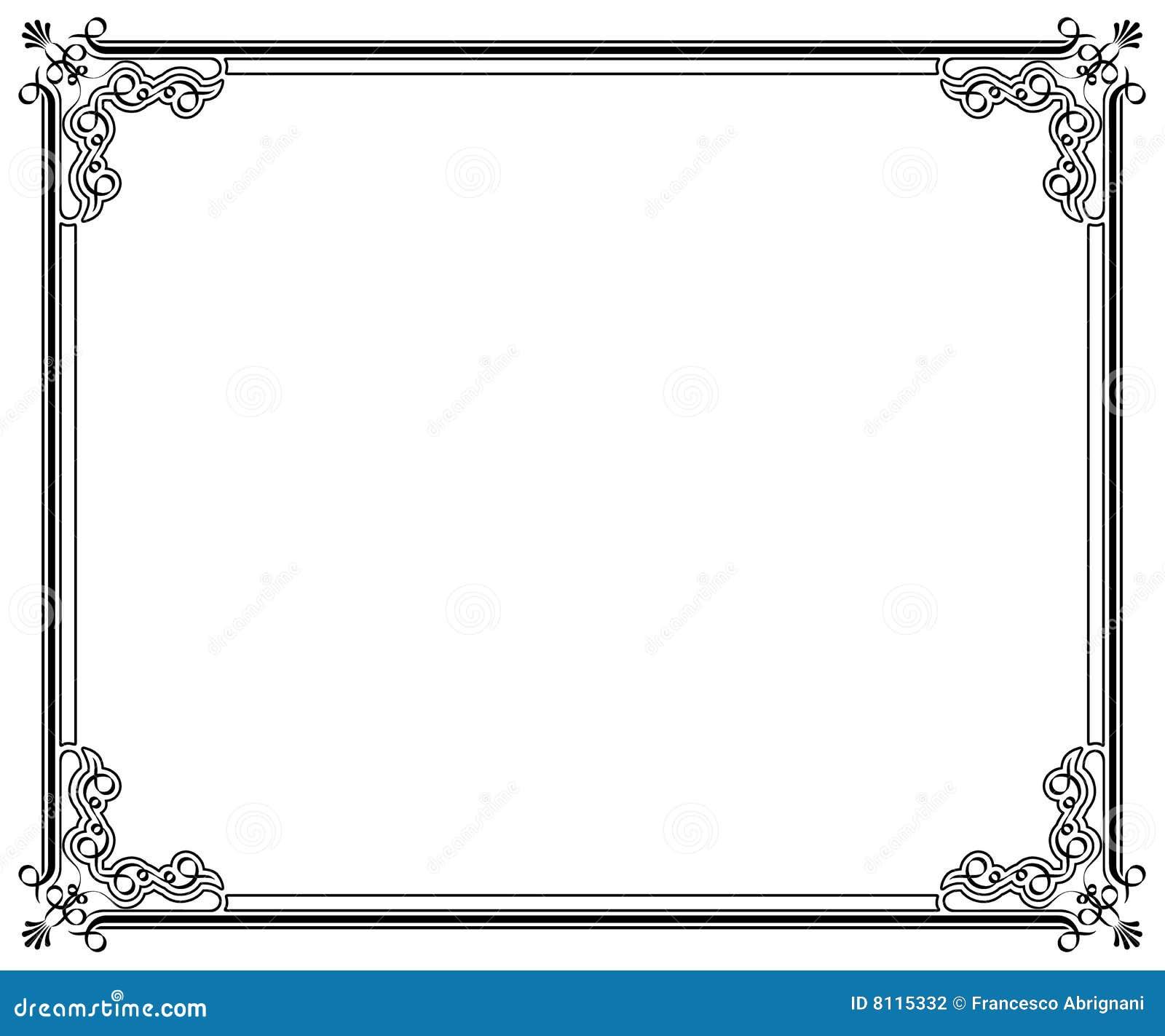 elegant page corner borders