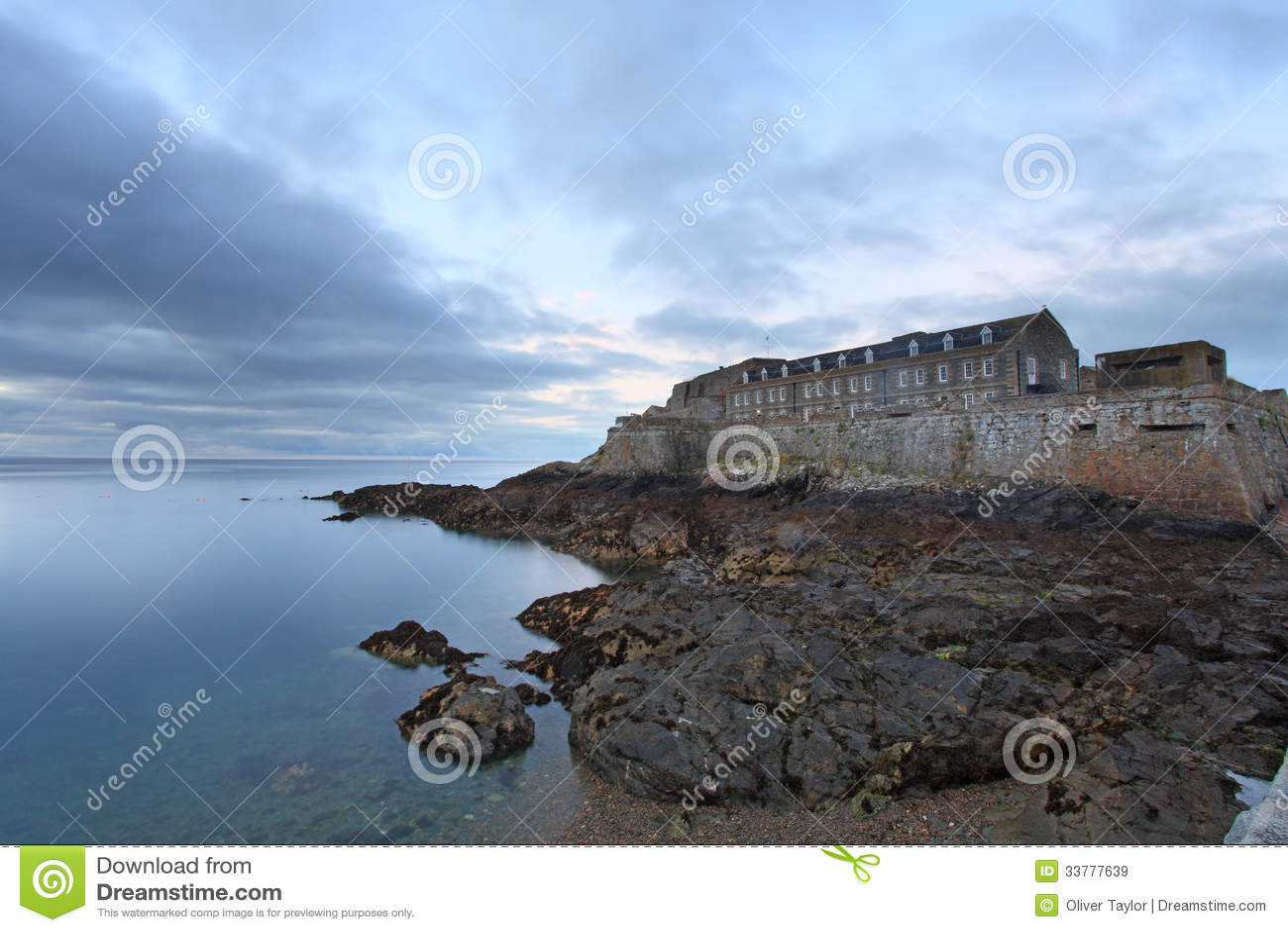 Guernsey United Kingdom  city images : Guernsey Island Cornet Castle United Kingdom Channel Island.